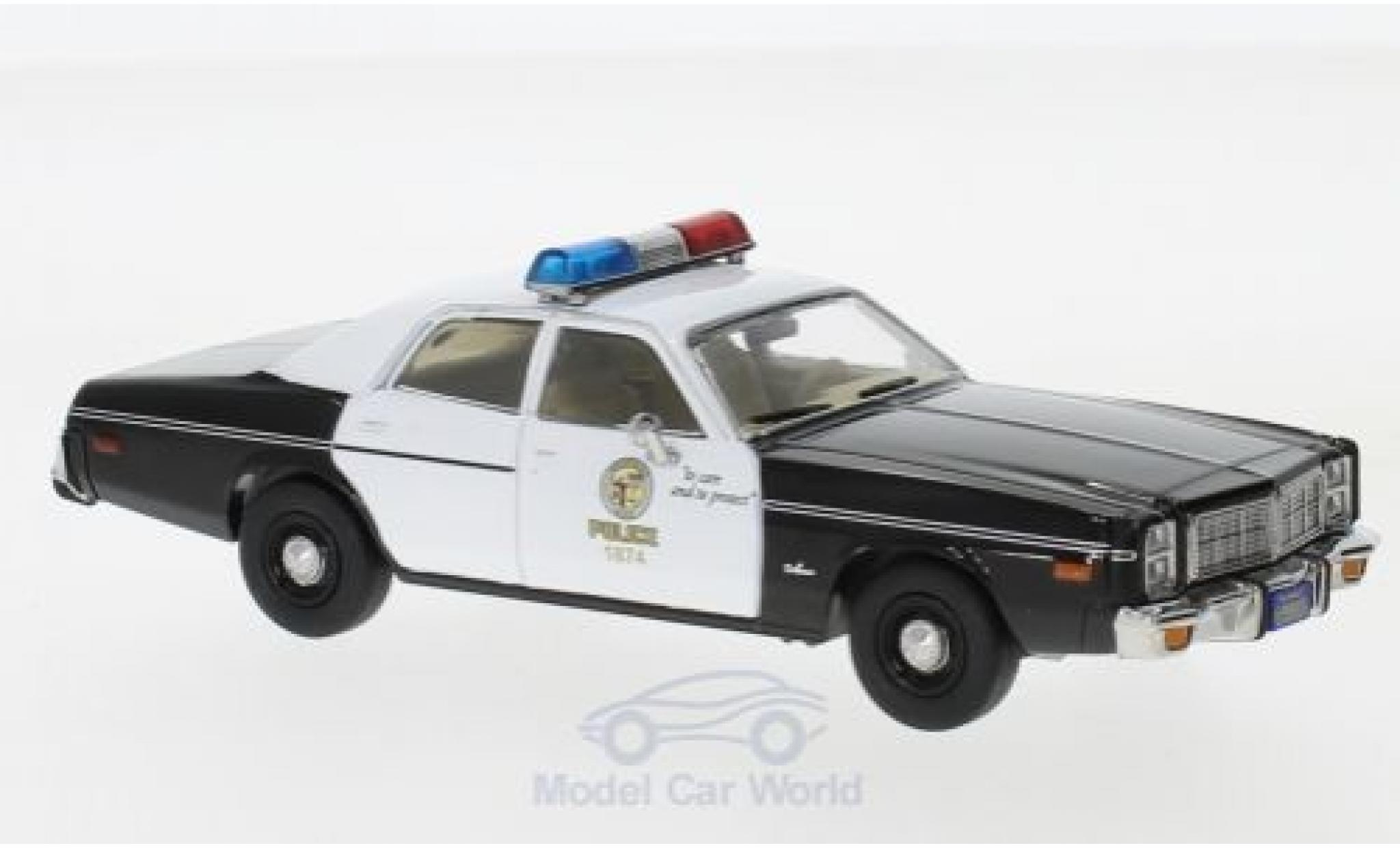 Dodge Monaco 1/43 Greenlight Police Interceptor The Terminator 1977