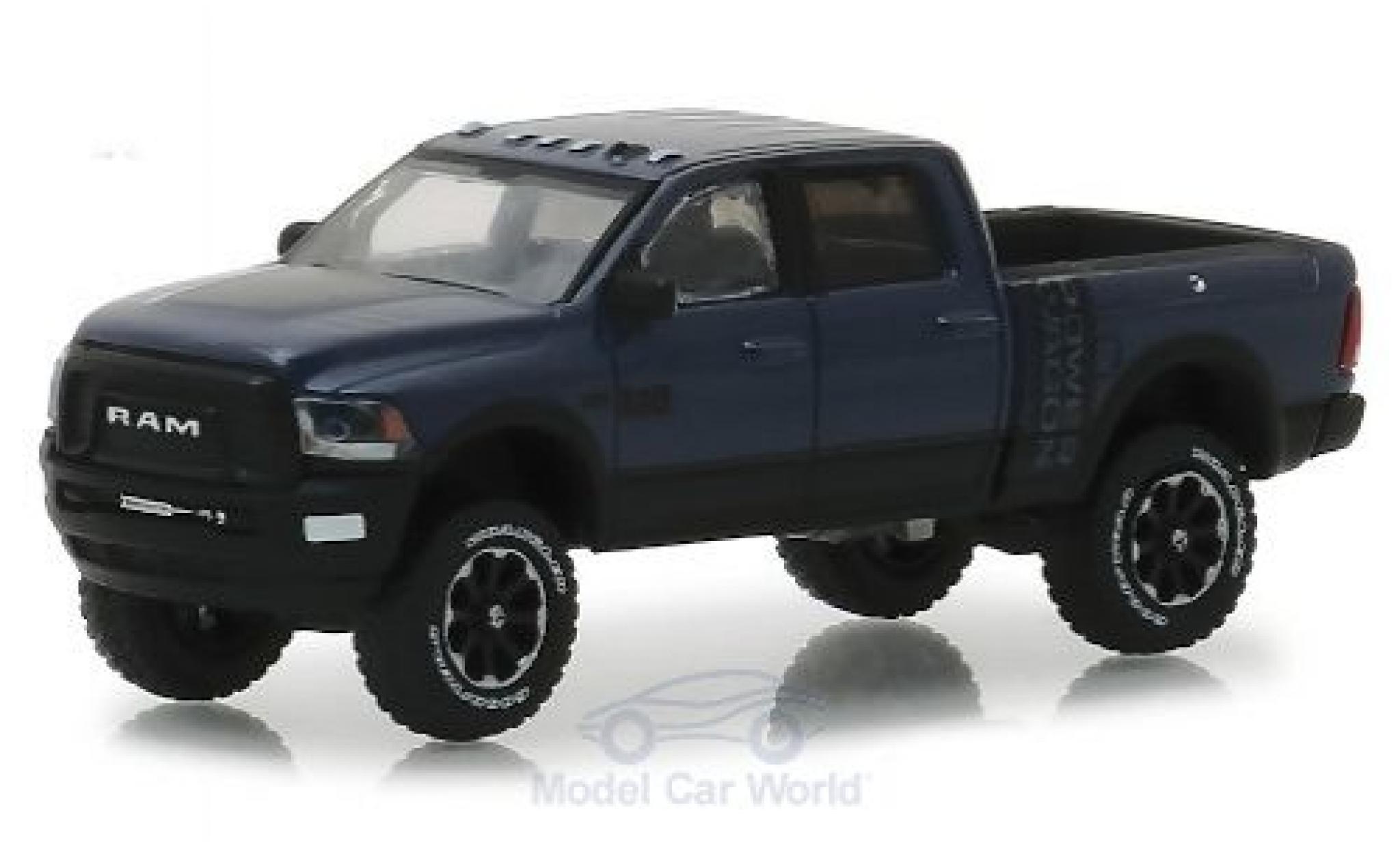 Dodge RAM 1/64 Greenlight 2500 Power Wagon metallic anthrazit/black 2018