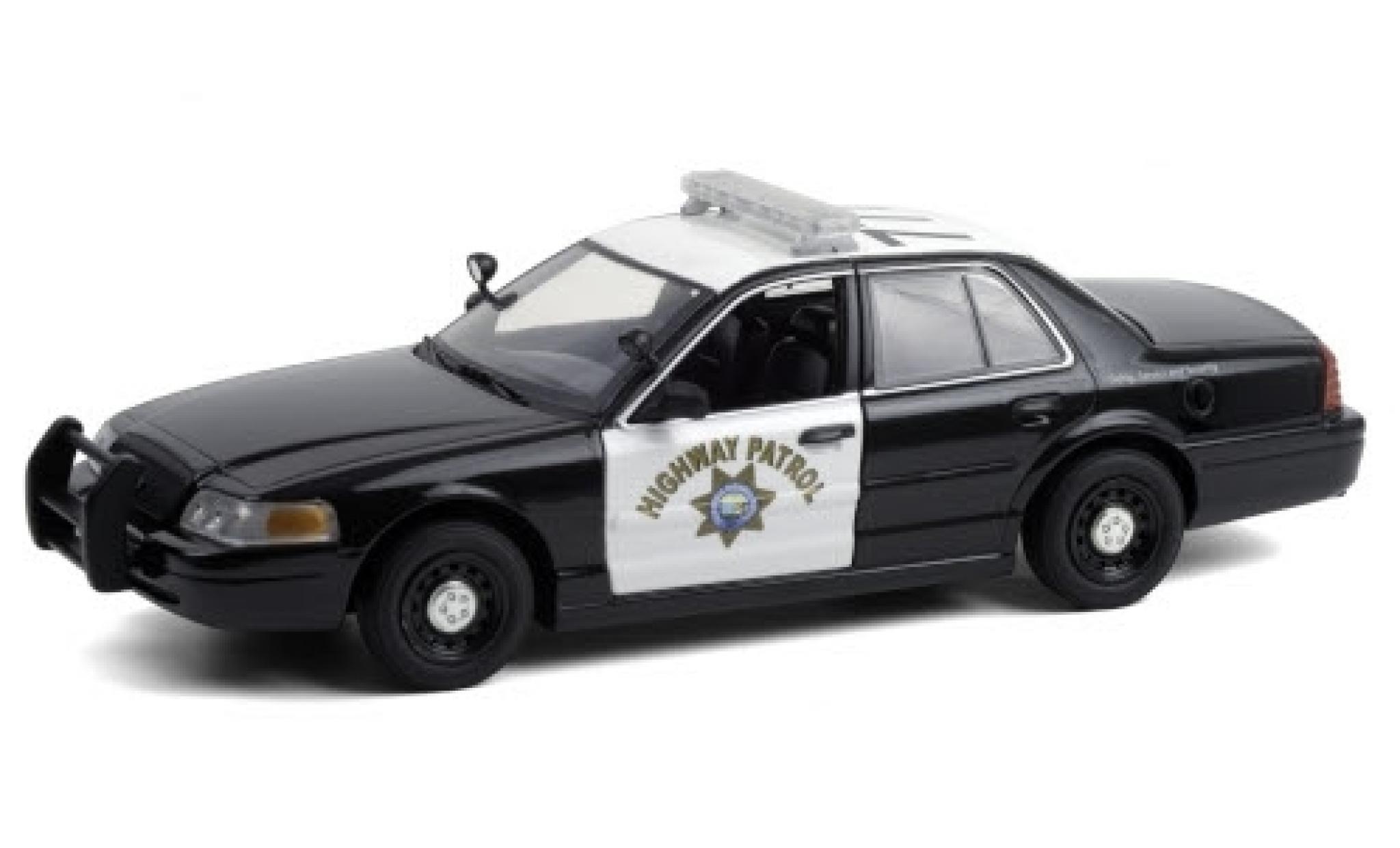 Ford Crown 1/24 Greenlight Victoria Police Interceptor California Highway Patrol 2008