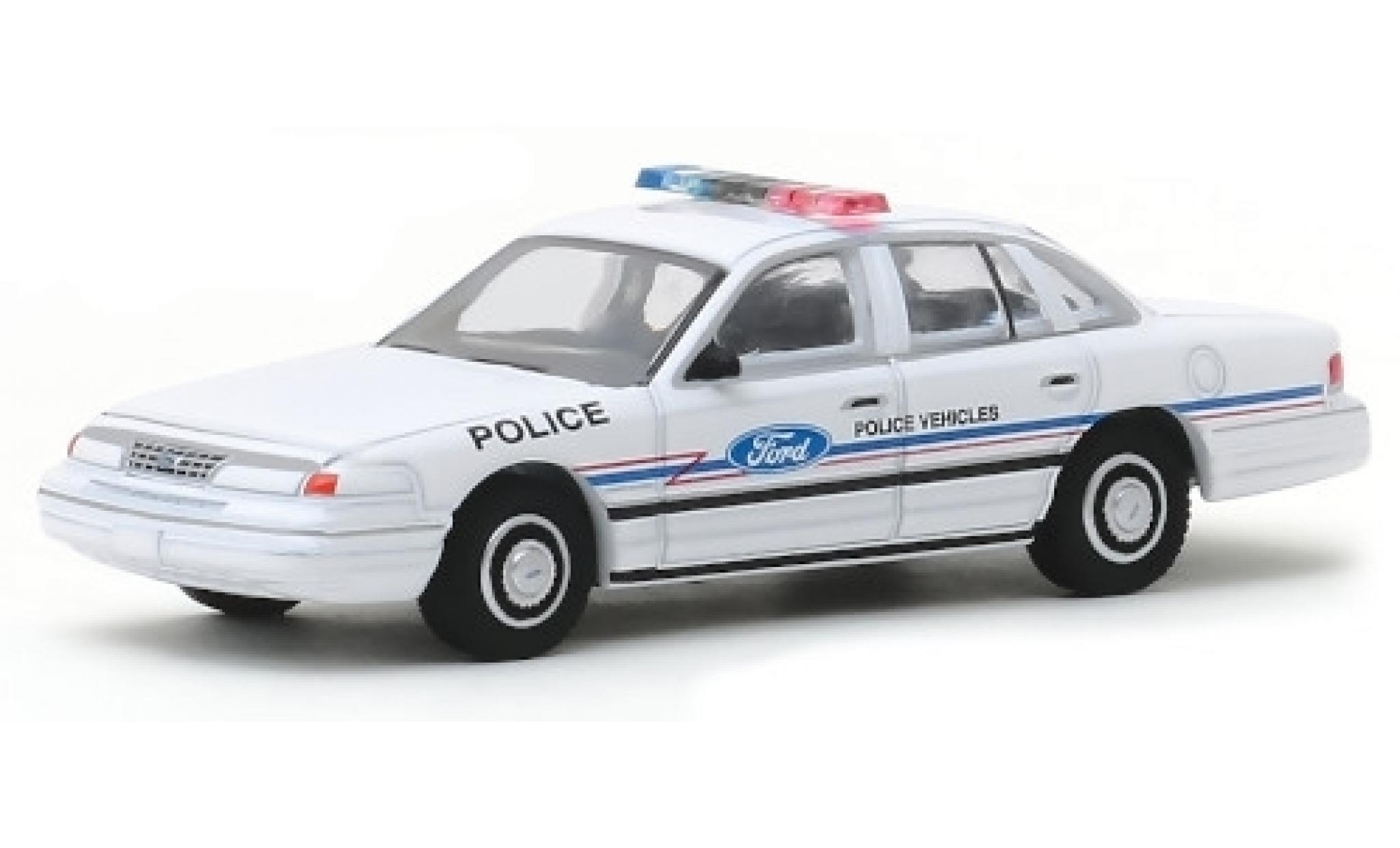 Ford Crown 1/64 Greenlight Victoria Police Interceptor Police Vehicles 1993 Showfahrzeug