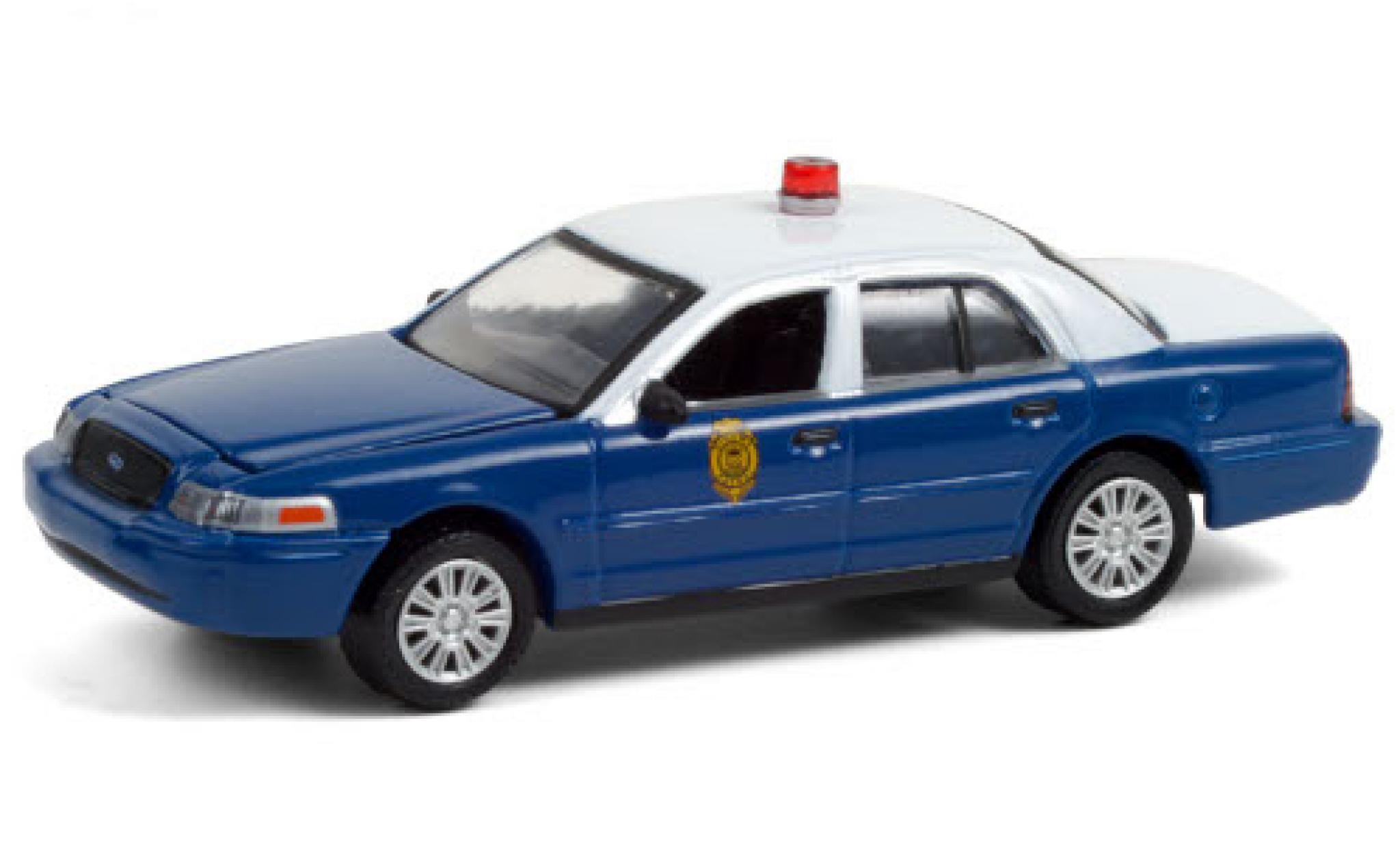 Ford Crown 1/64 Greenlight Victoria Police Interceptor Kansas Highway Patrol 2011 Kansas autoroute Patrol 75th Anniversaire
