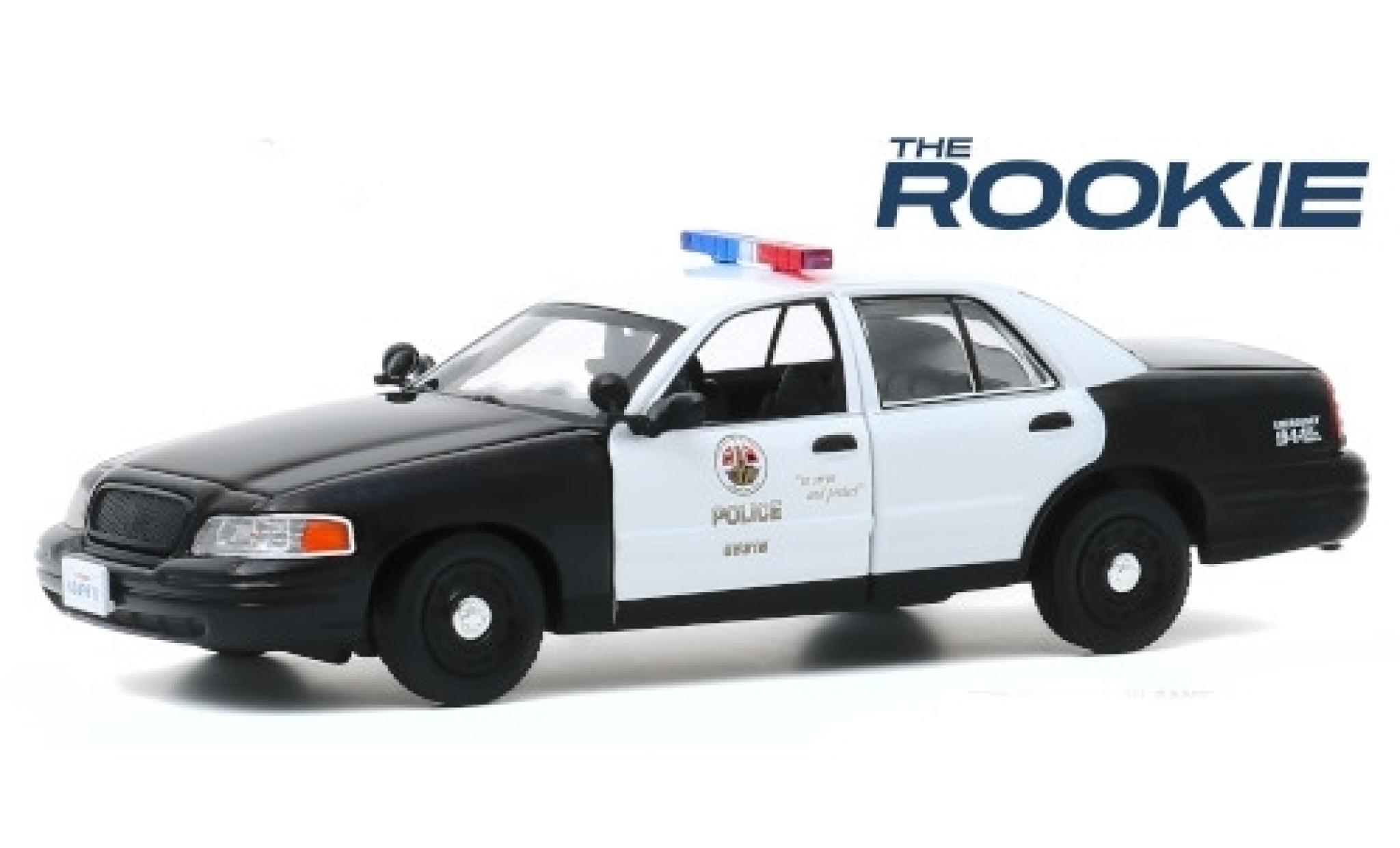 Ford Crown 1/24 Greenlight Victoria Police Interceptor LAPD - Los Angeles Police Department 2008 The Rookie