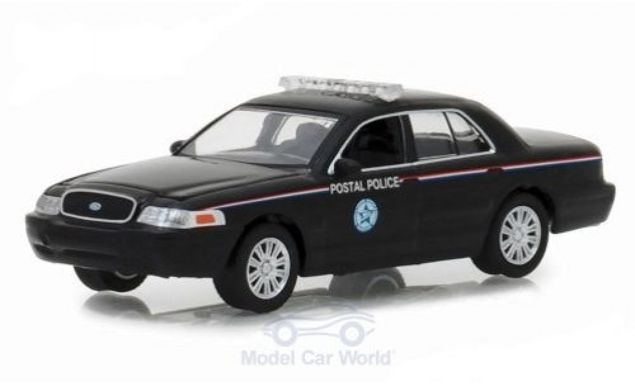 Ford Crown 1/64 Greenlight Victoria Police Interceptor United States Postal Service 2010