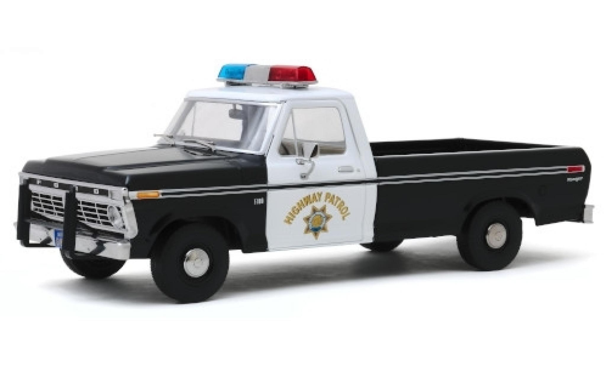 Ford F-1 1/64 Greenlight 00 California Highway Patrol 1975