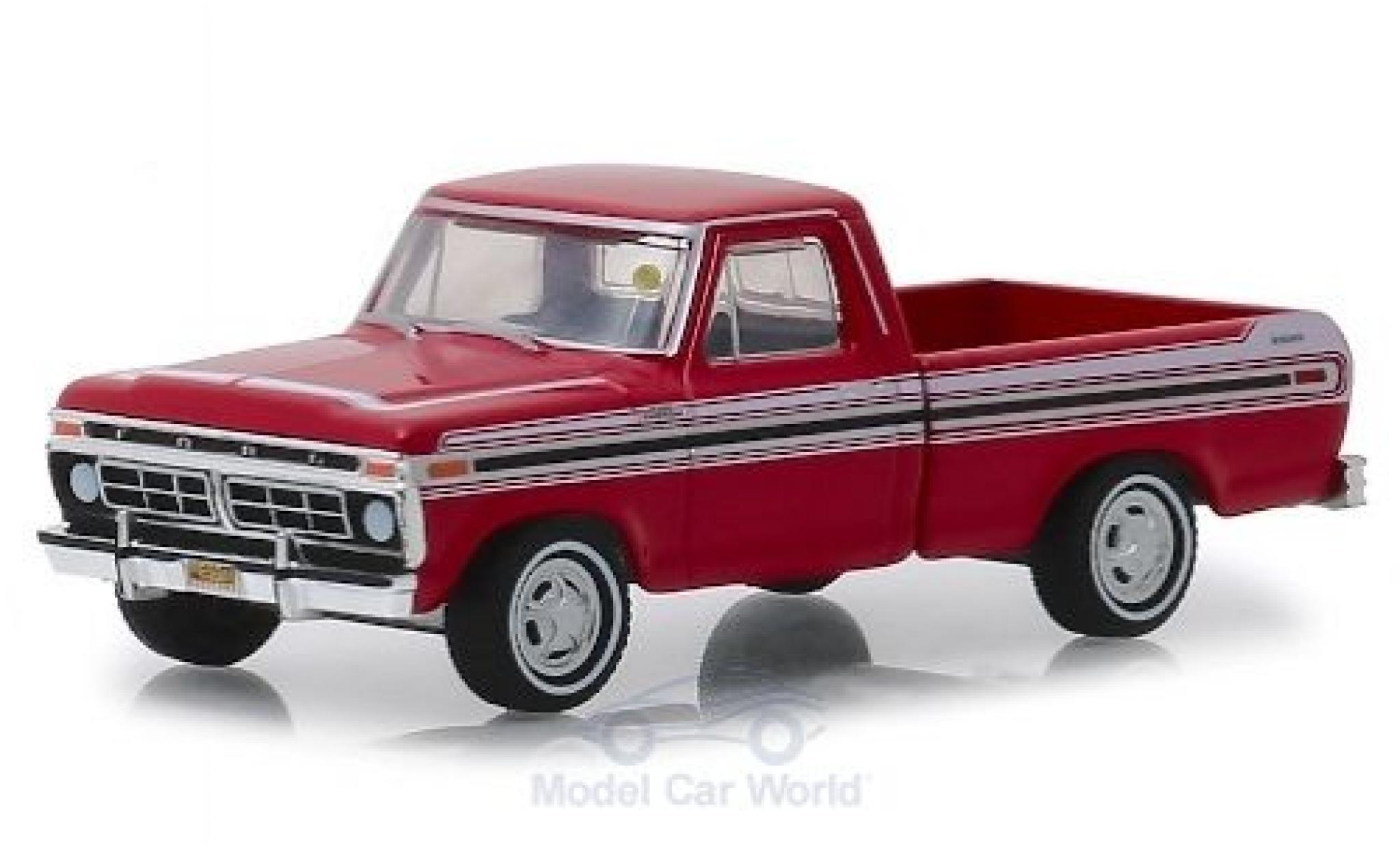 Ford F-1 1/64 Greenlight 00 Explorer rouge/blanche 1977