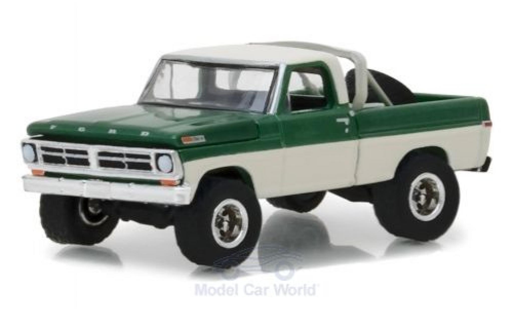 Ford F-1 1/64 Greenlight 00 metallise verte/beige 1971