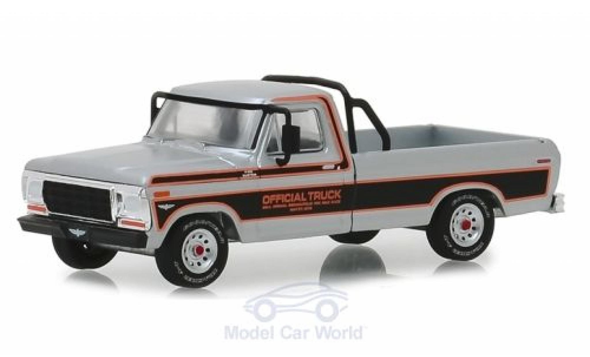 Ford F-1 1/64 Greenlight 00 Pick-Up grise Official Truck Indianapolis 500 1979