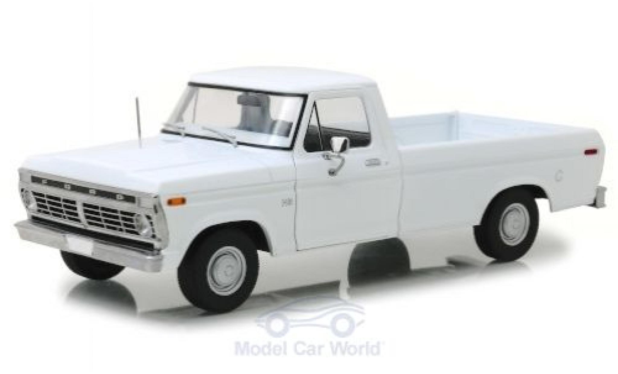 Ford F-1 1/18 Greenlight 00 blanche 1973
