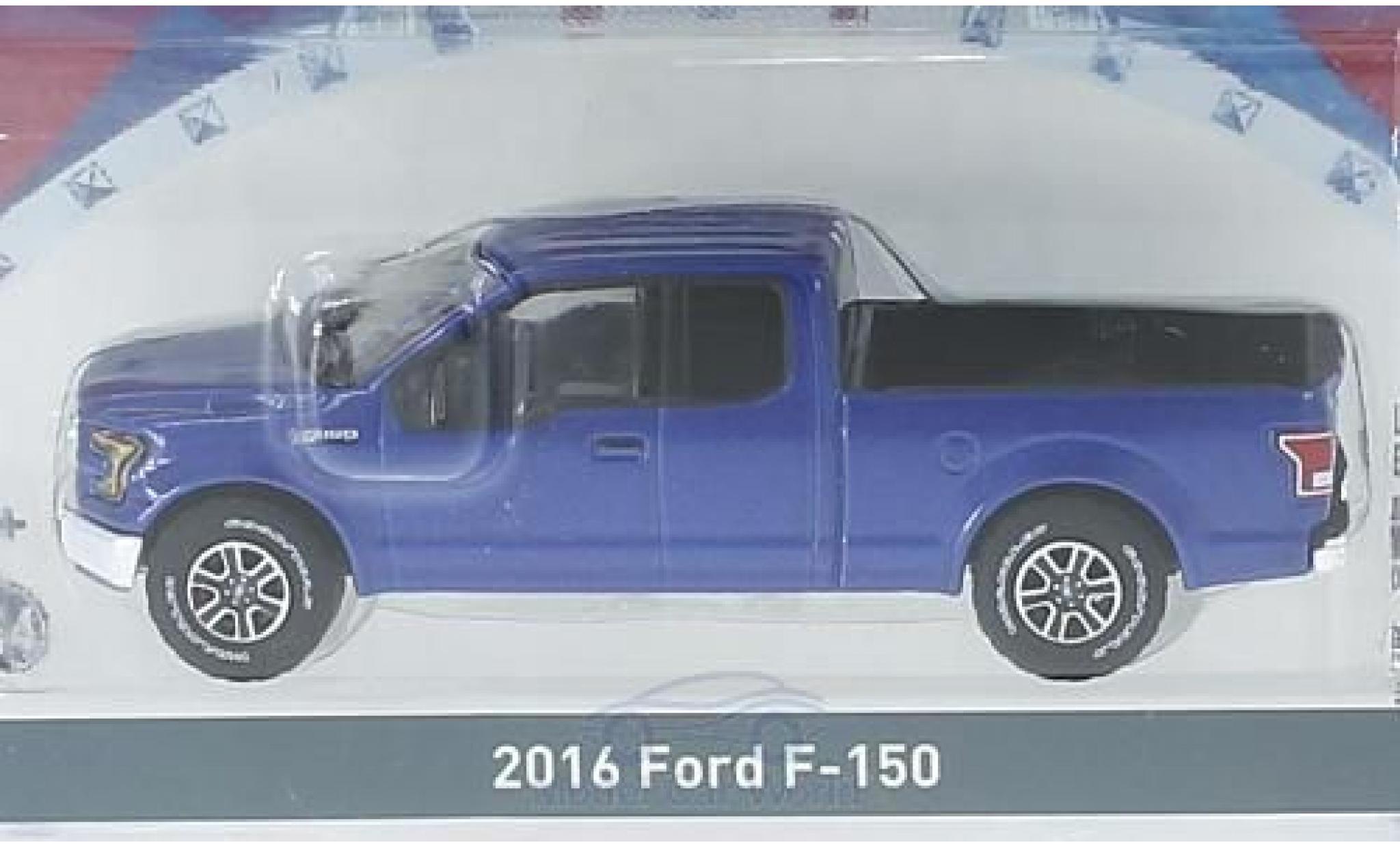 Ford F-1 1/64 Greenlight 50 metallic-blu 2016