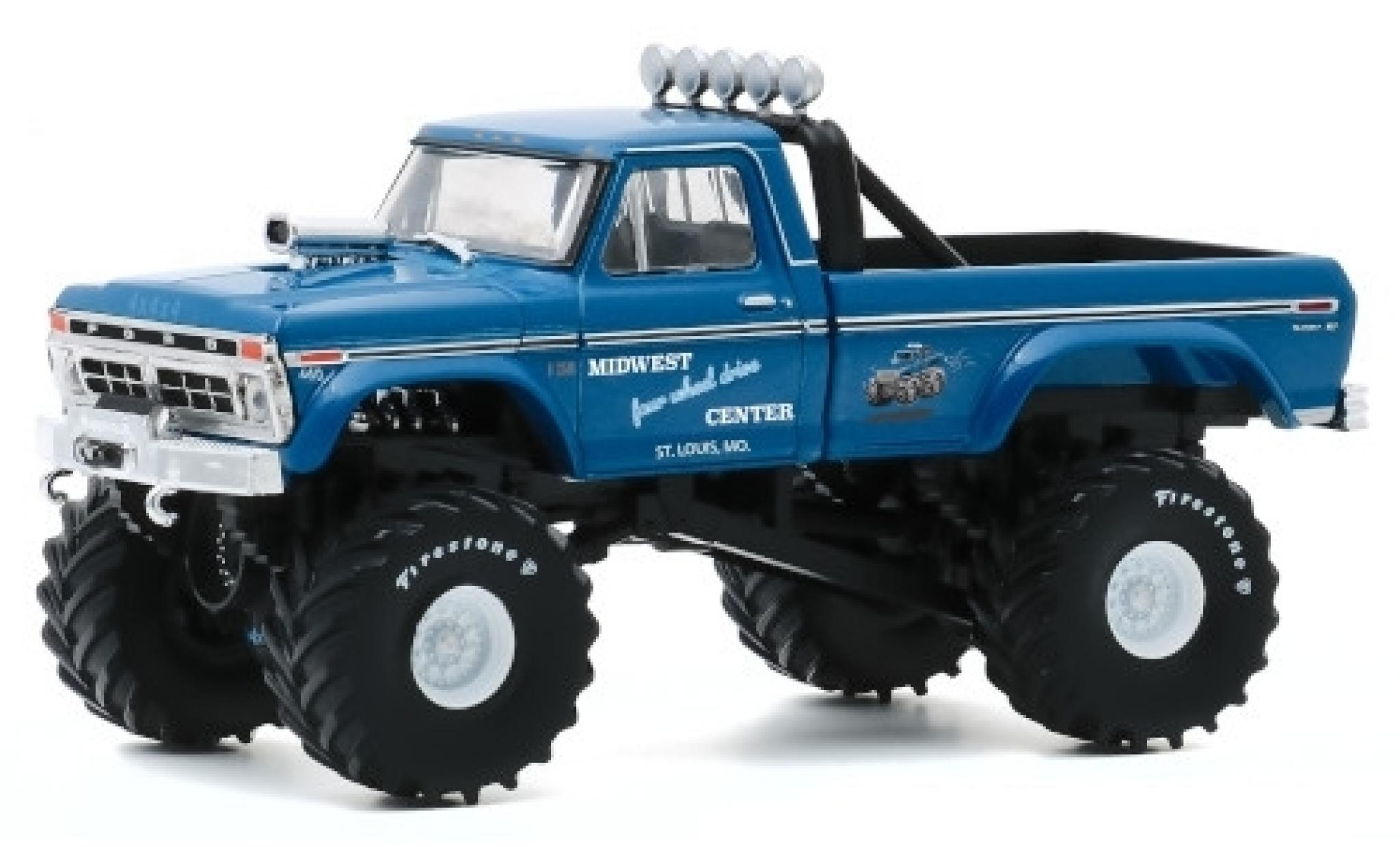 Ford F-250 1/43 Greenlight Custom Midwest Four Wheel Drive & Performance Center 1974