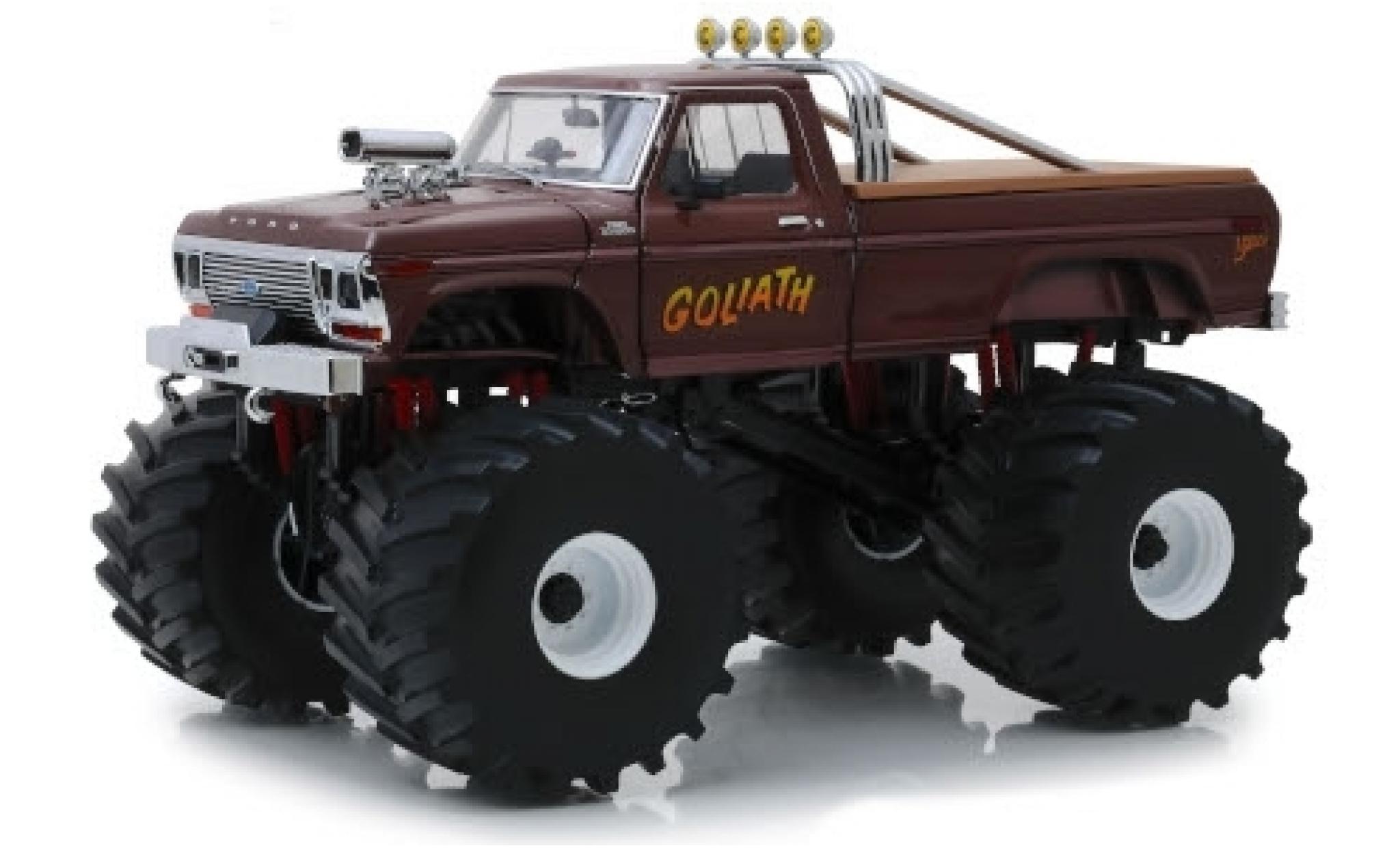 Ford F-250 1/43 Greenlight Monster Truck Goliath 1979