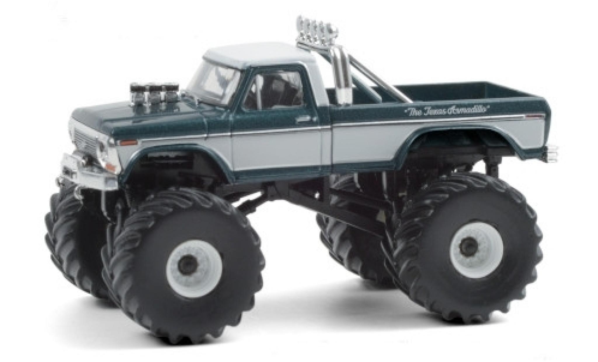 Ford F-250 1/64 Greenlight Monster Truck Texas Armadillo 1979