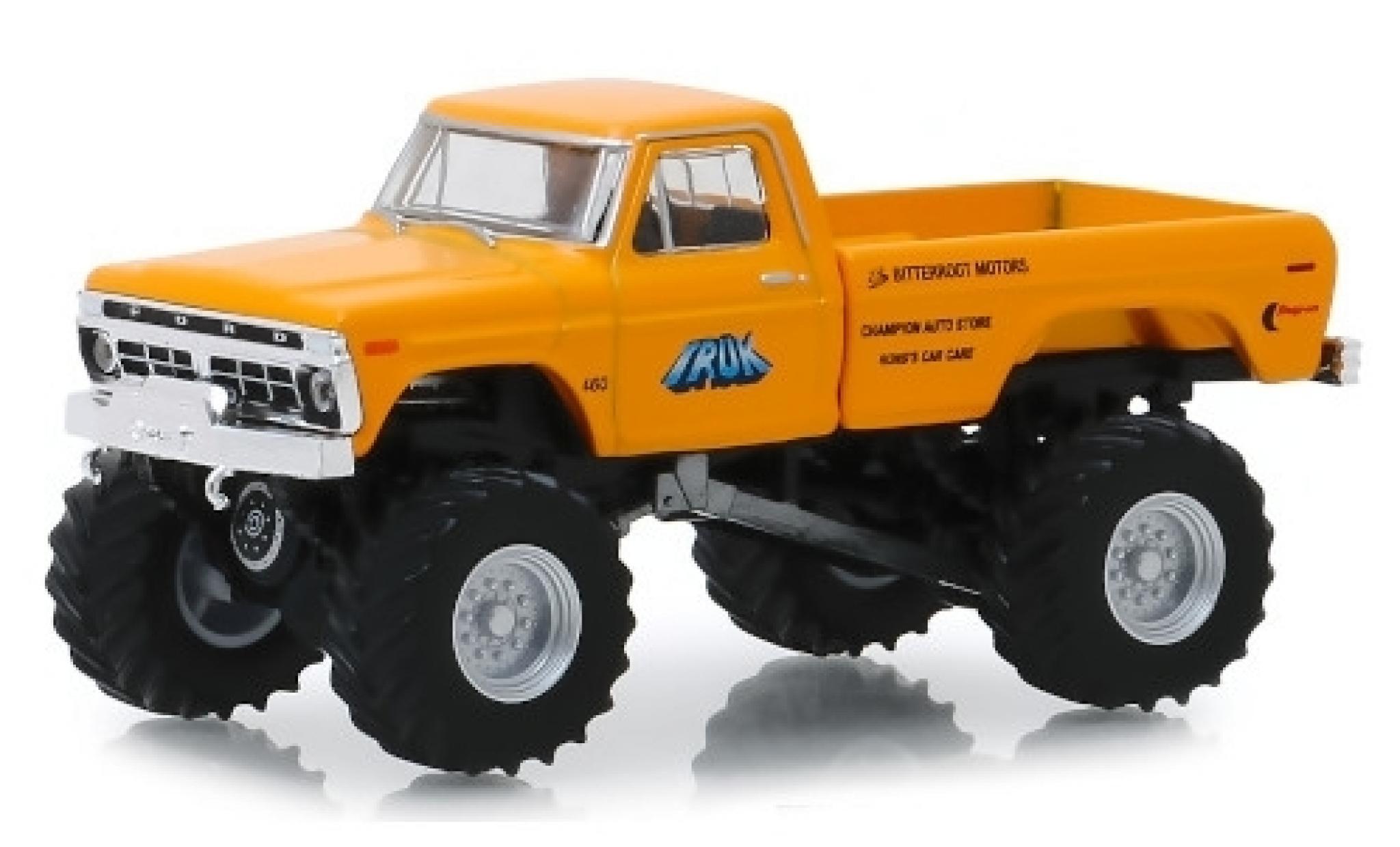 Ford F-250 1/64 Greenlight Monster Truck Truk 1977