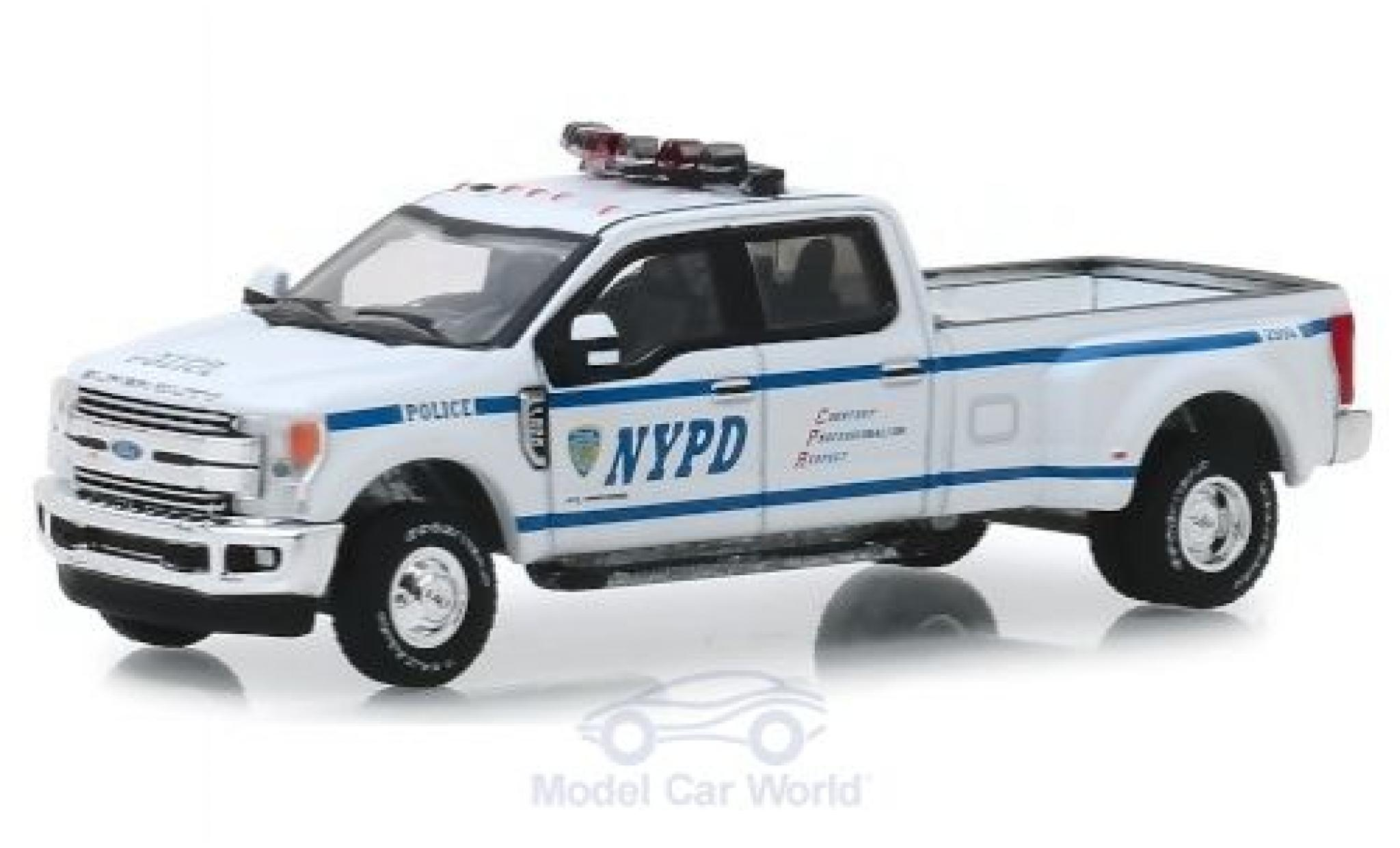 Ford F-350 1/64 Greenlight Lariat NYPD 2019