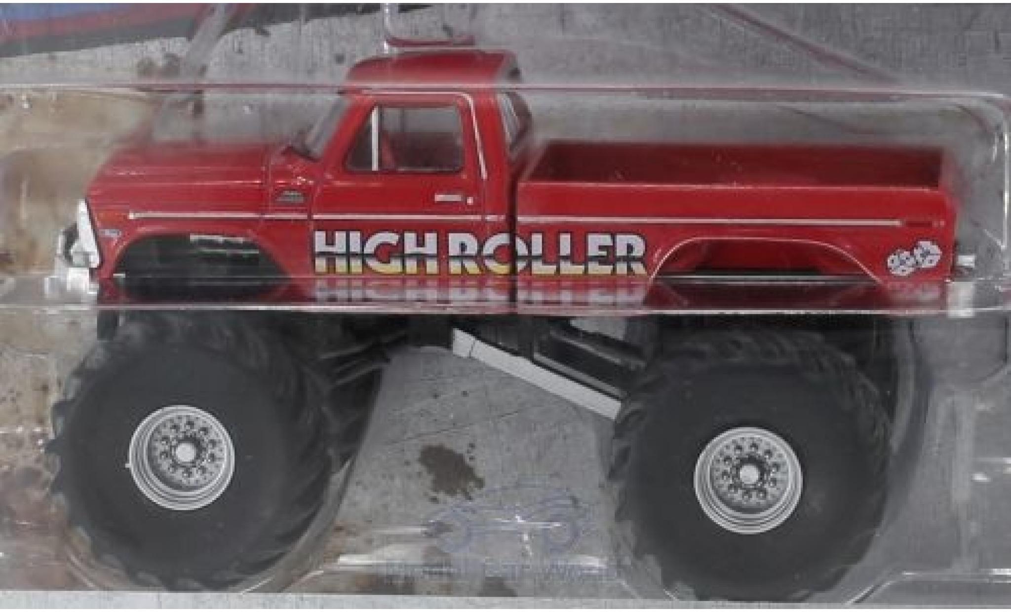 Ford F-350 1/64 Greenlight Monster Truck High Roller 1979