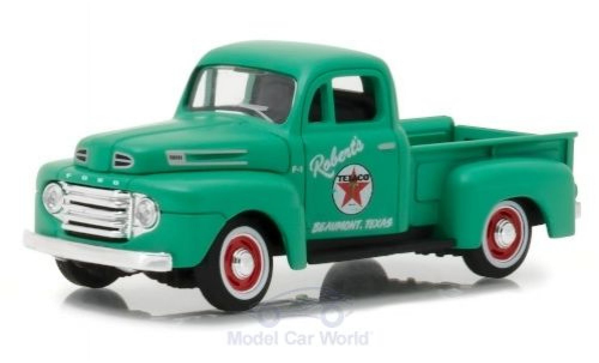 Ford F1 1/43 Greenlight Pick Up Texaco 1948