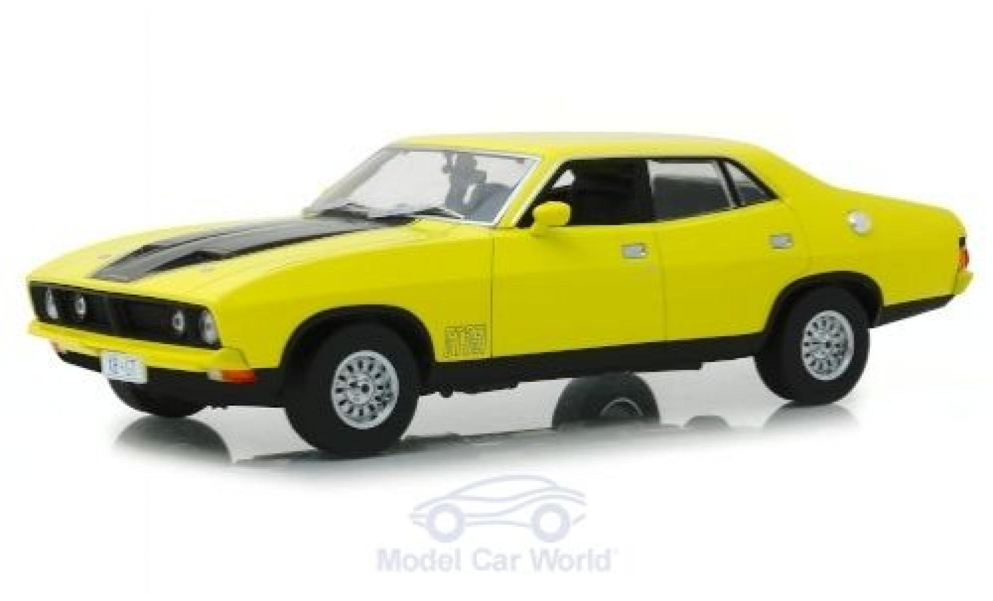 Ford Falcon 1/18 Greenlight XB GT351 jaune/noire RHD 1974