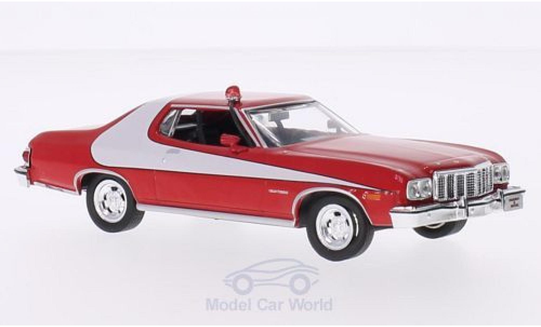 Ford Gran Torino 1/43 Greenlight rouge/blanche 1976 Starsky & Hutch TV-Serie