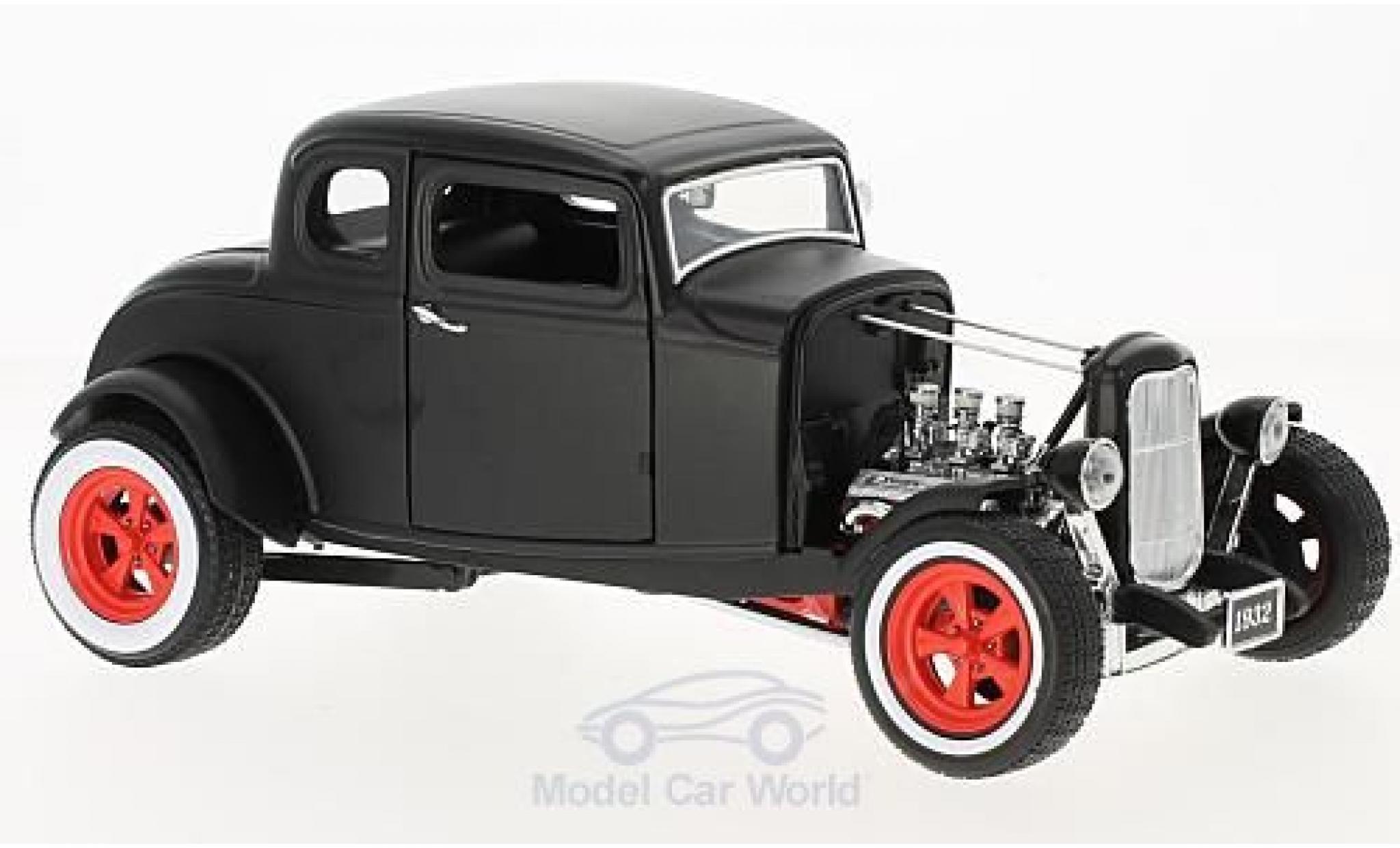 Ford Hot Rod 1/18 Greenlight Custom matt-noire 1932