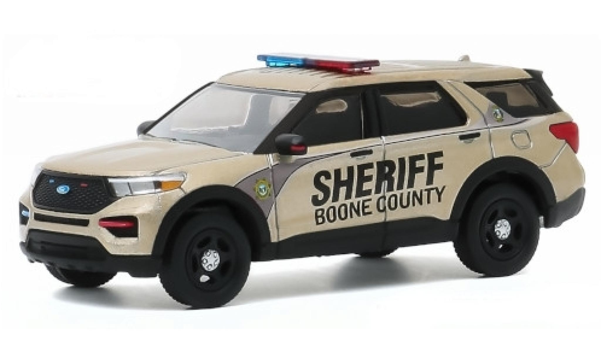Ford Interceptor 1/64 Greenlight Utility Boone County Sheriff 2020 200th Anniversaire - Boone County Sheriffs Departement
