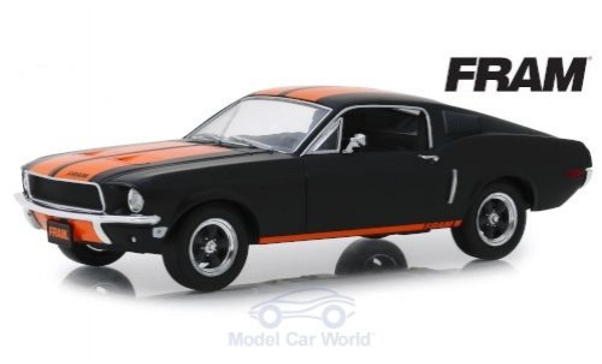 Ford Mustang 1/24 Greenlight Fastback FRAM 1968