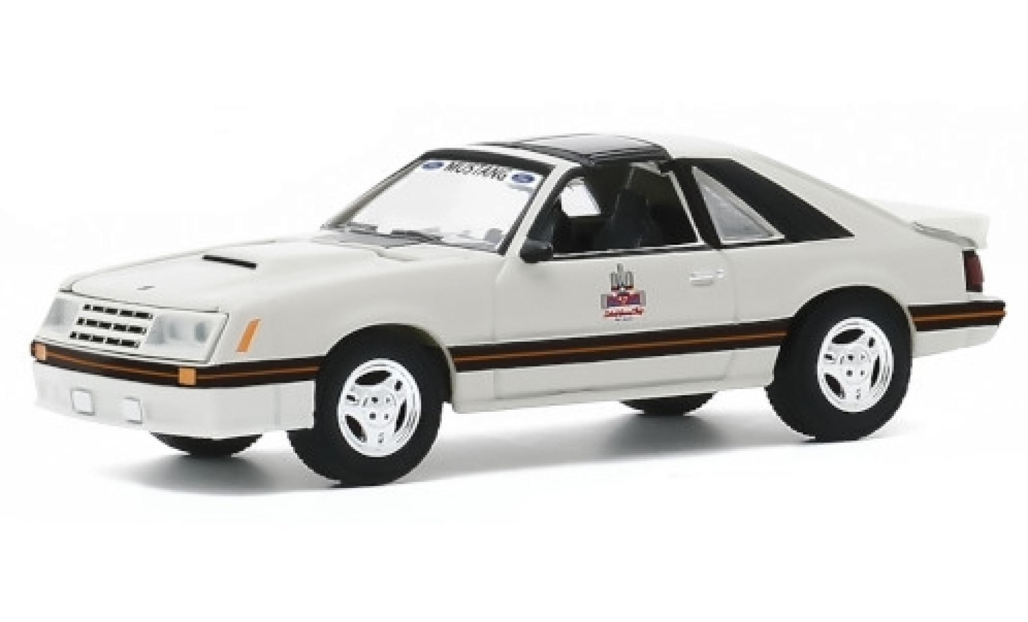 Ford Mustang 1/64 Greenlight GP Detroit 1979 1982 Official Pace Car