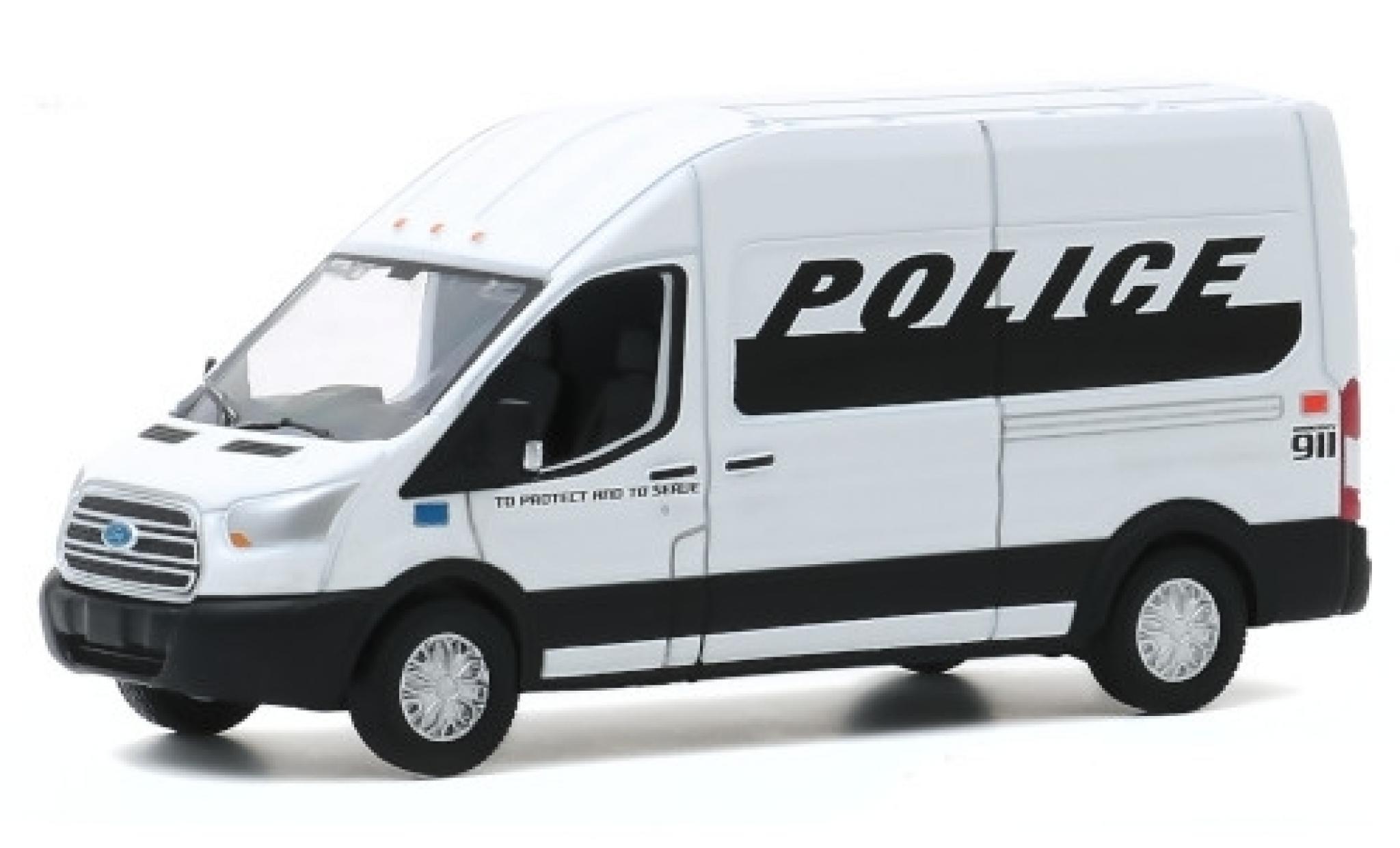 Ford Transit 1/64 Greenlight Police 2019