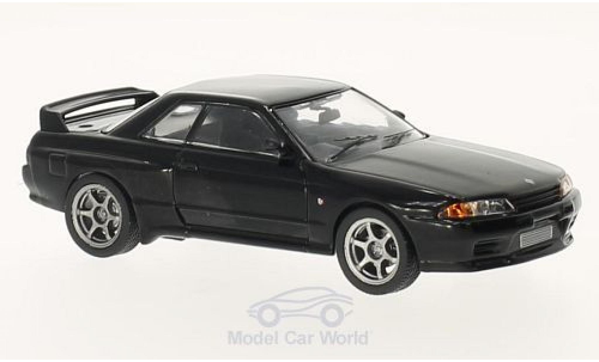 Nissan Skyline 1/43 Greenlight black Fast & Furious 7 1989