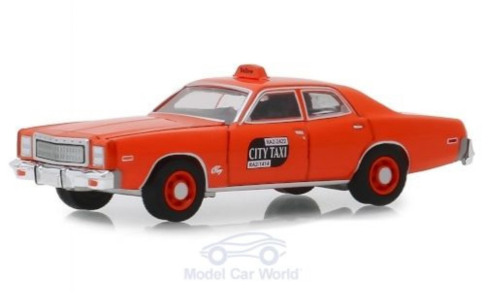 Plymouth Fury 1/64 Greenlight Binghamton New York City Taxi 1977
