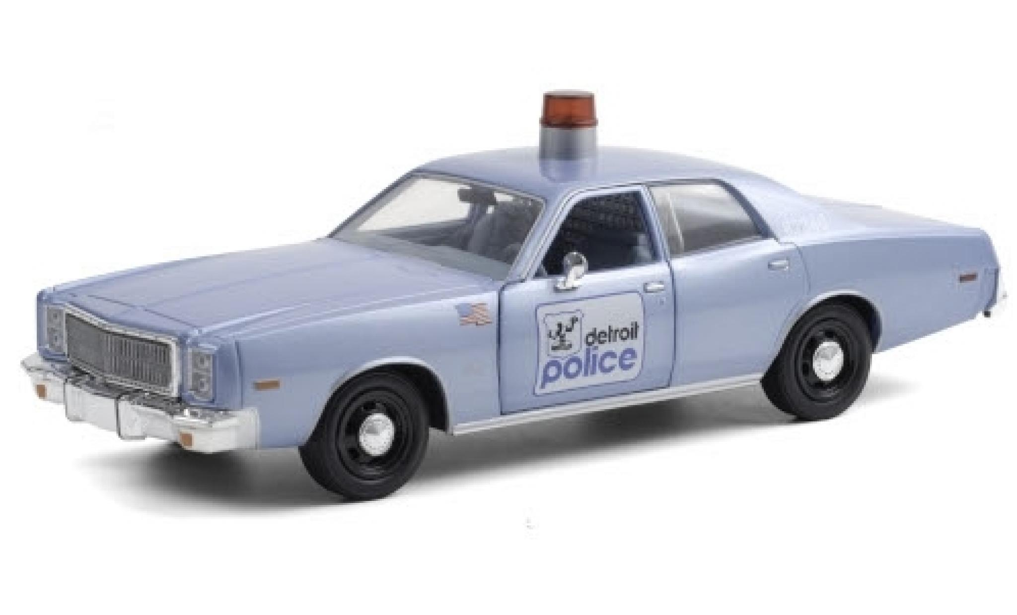 Plymouth Fury 1/24 Greenlight Detroit Police 1977 Beverly Hills Cop (1984)