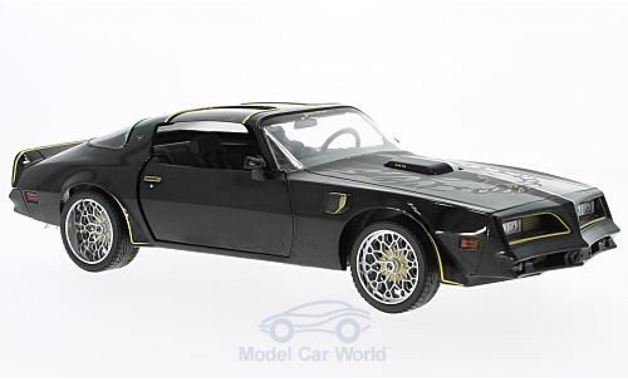 Pontiac Trans Am 1/18 Greenlight Tegos noire/gold Fast & Furious 1978 Artisan Collection