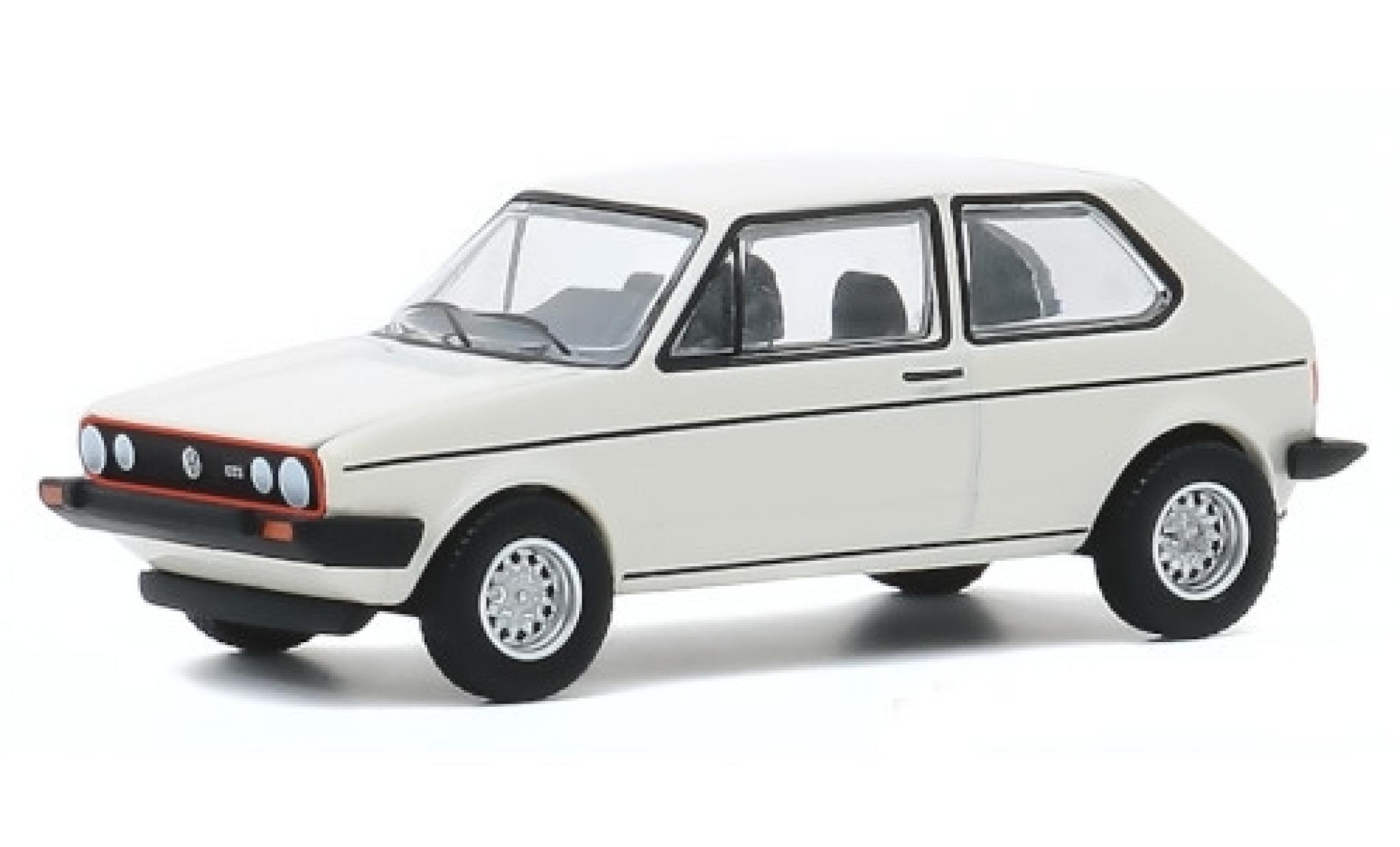 Volkswagen Golf 1/64 Greenlight I GTI blanche 1980