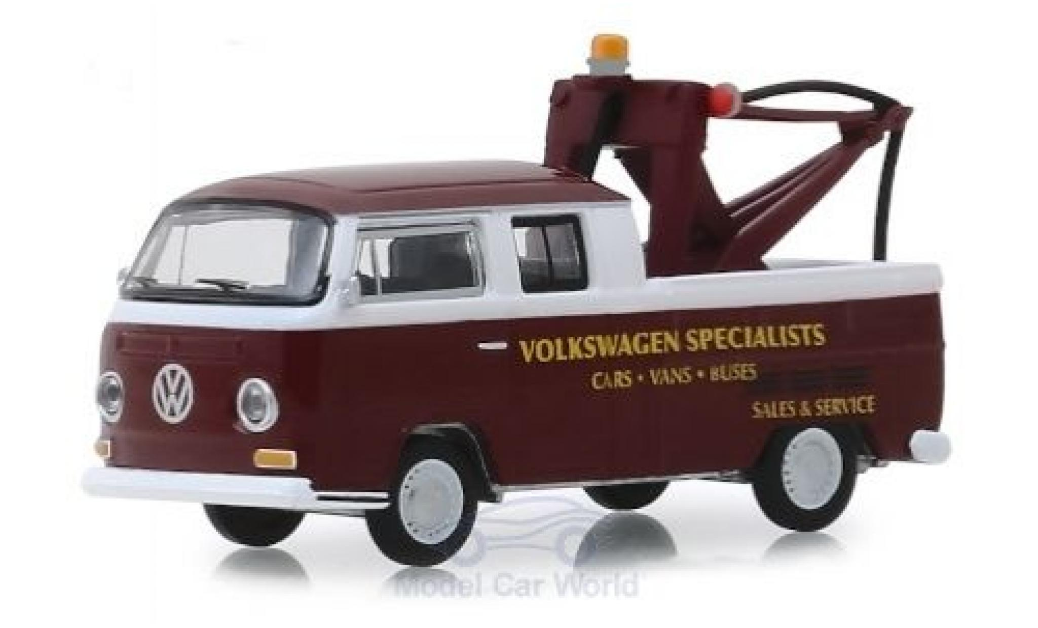 Volkswagen T2 1/64 Greenlight DoKa Abschleppwagen Specialists 1968