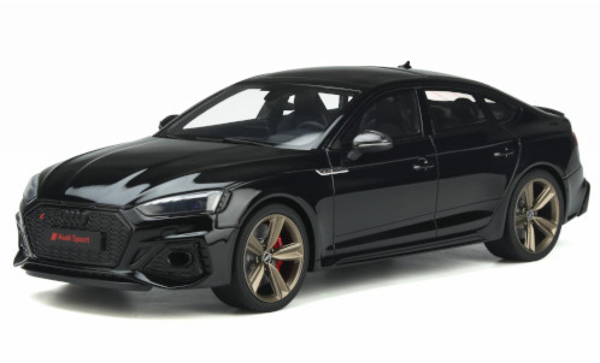 Audi RS5 1/18 GT Spirit (B9) Sportback noire 2020