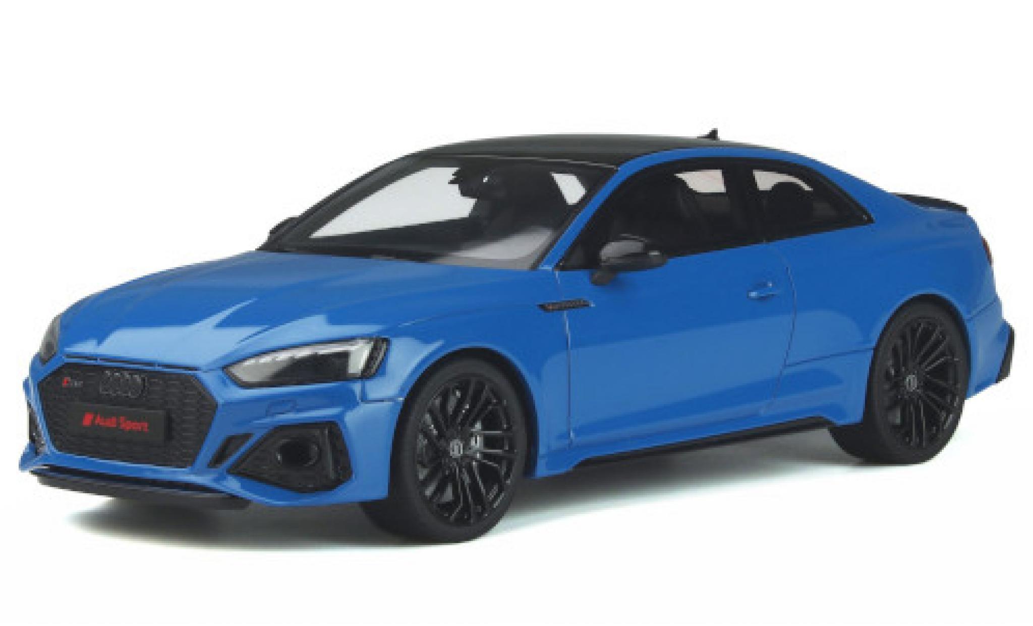 Audi RS5 1/18 GT Spirit Coupe (F5) blue 2020