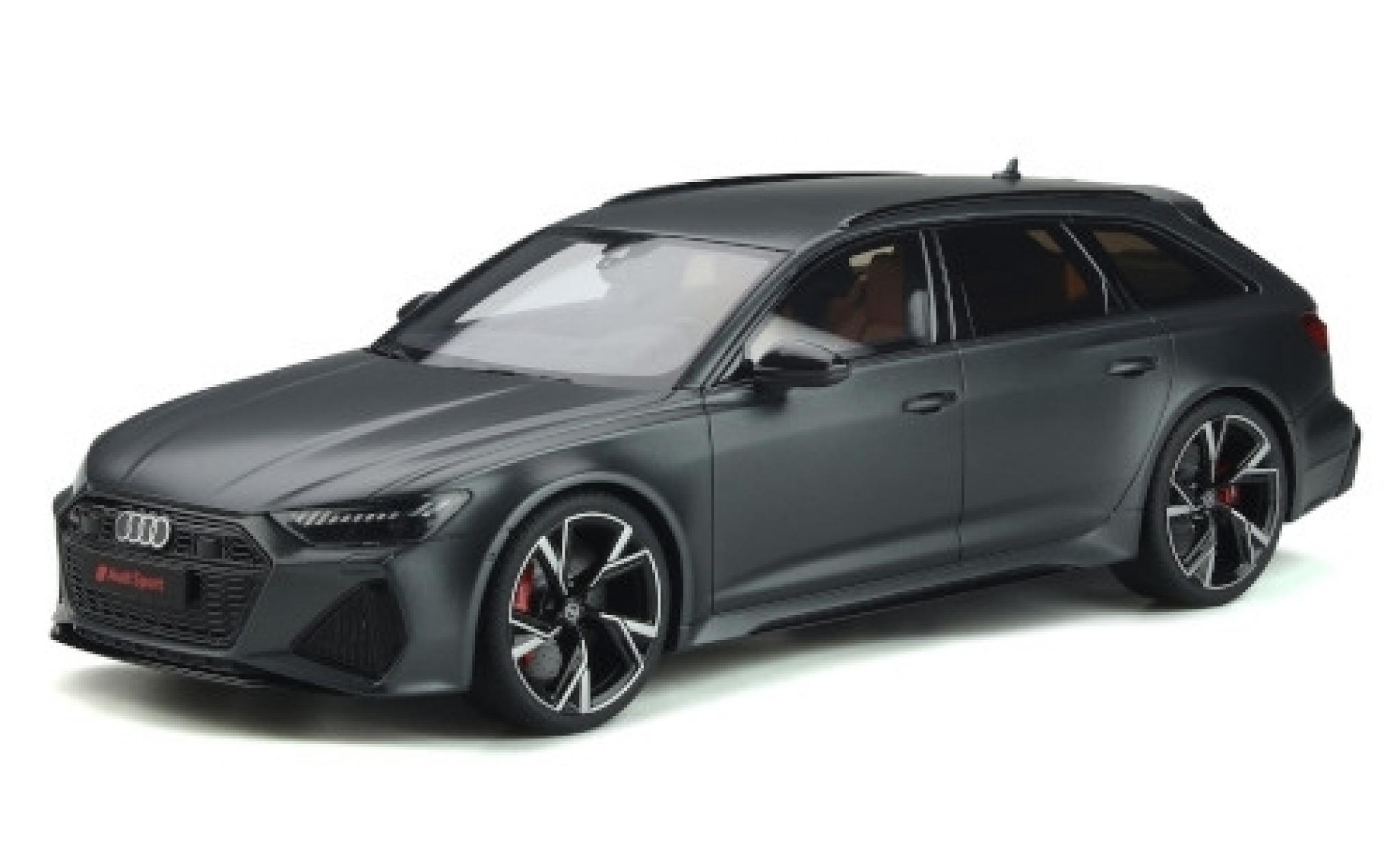 Audi RS6 1/18 GT Spirit Avant (C8) matt-grey 2020