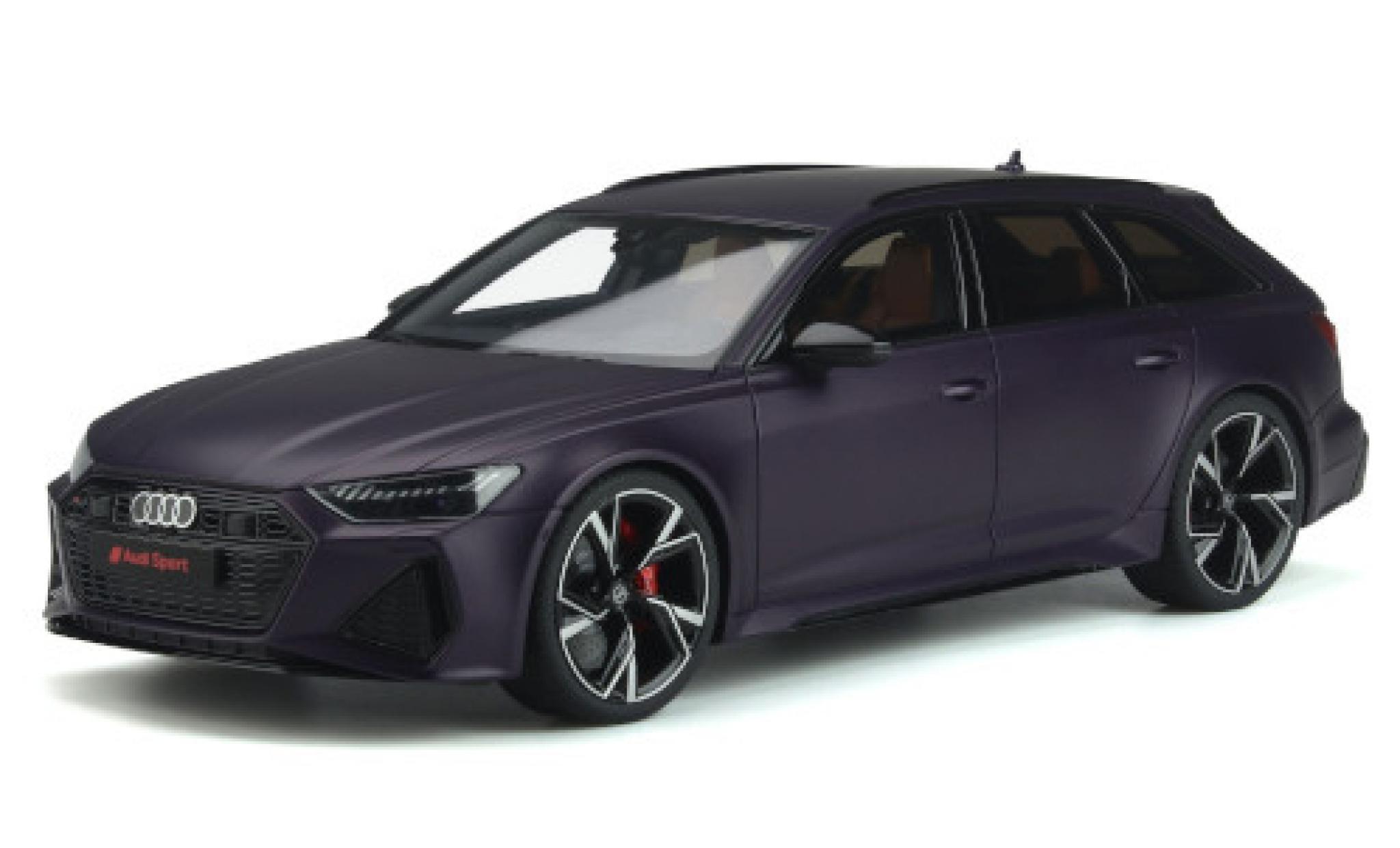 Audi RS6 1/18 GT Spirit Avant (C8) matt-lila 2020