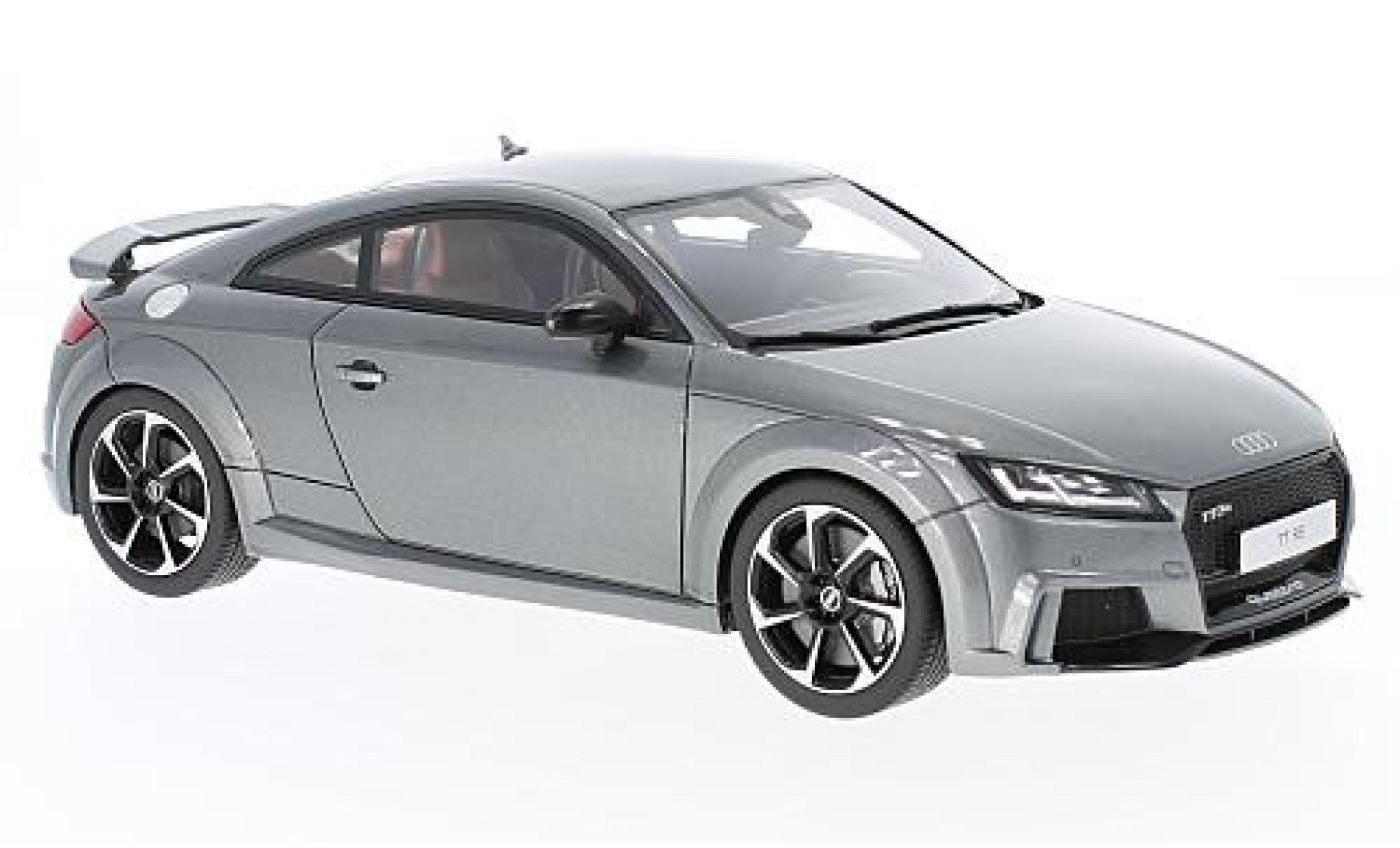 Audi TT 1/18 GT Spirit RS metallise grise 2016