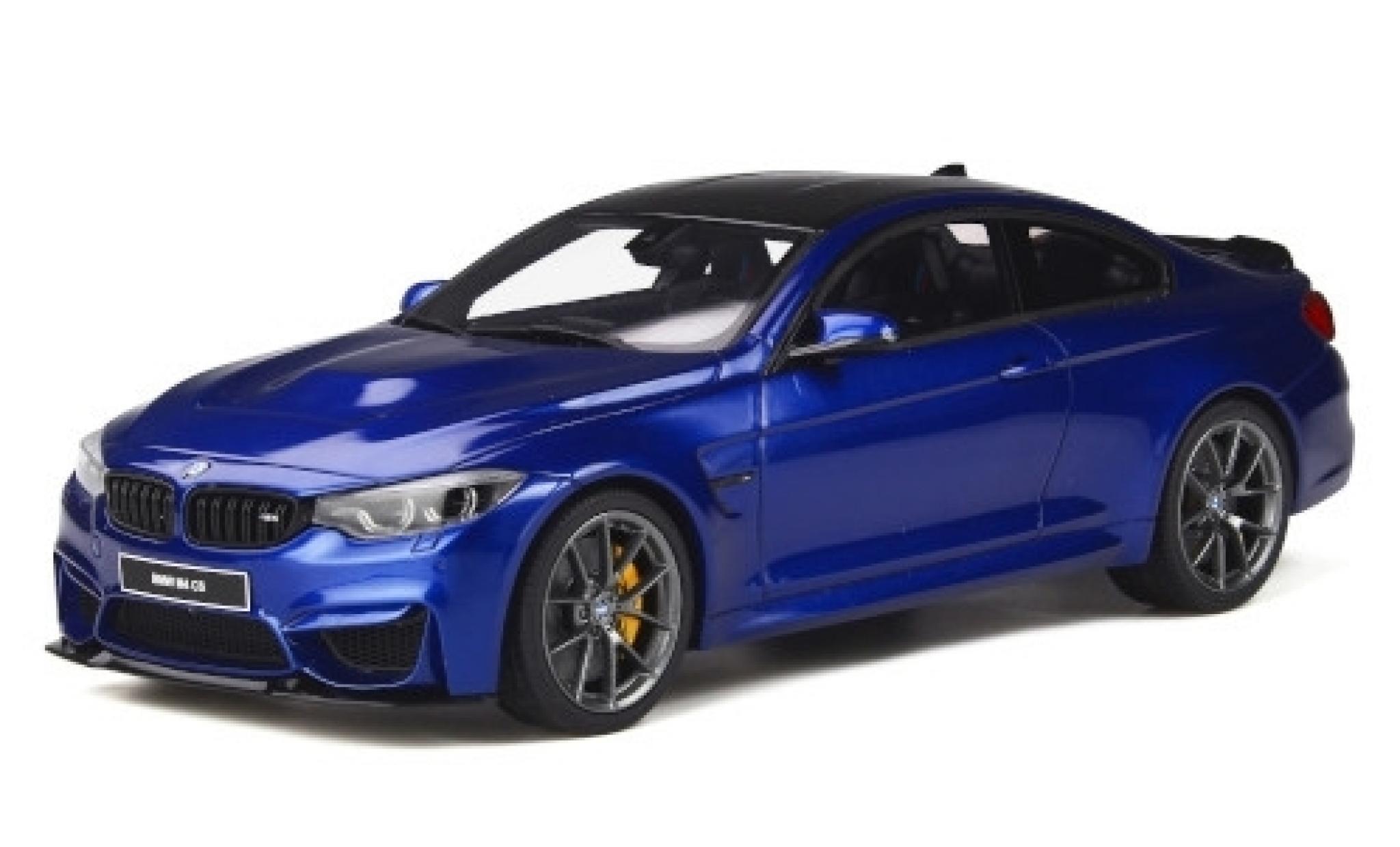 Bmw M4 1/18 GT Spirit CS (F82) metallise bleue 2017