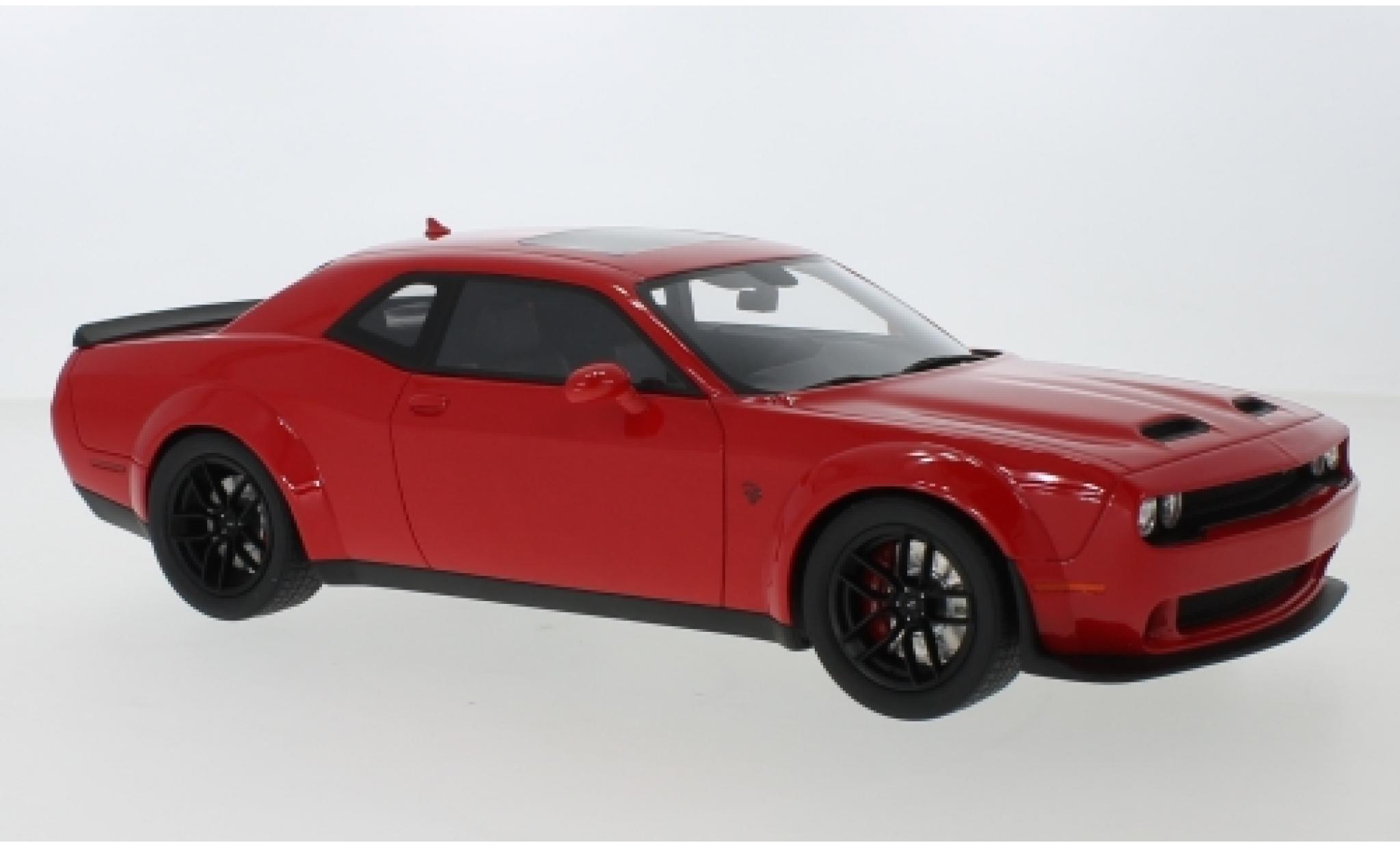 Dodge Challenger 1/18 GT Spirit SRT Hellcat Redeye Widebody red 2019