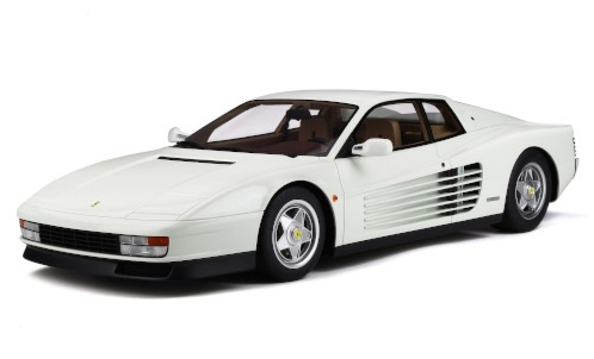Ferrari Testarossa 1/12 GT Spirit blanche