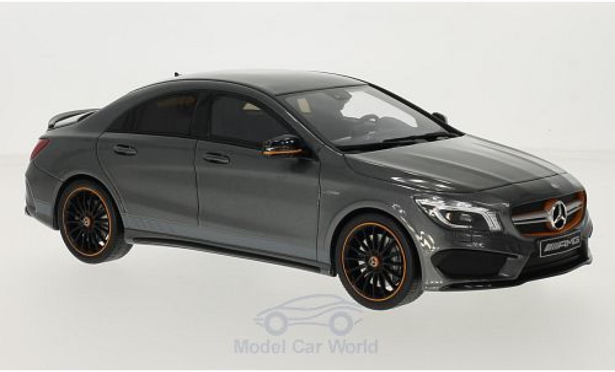 Mercedes CLA 1/18 GT Spirit AMG 45 metallise grise
