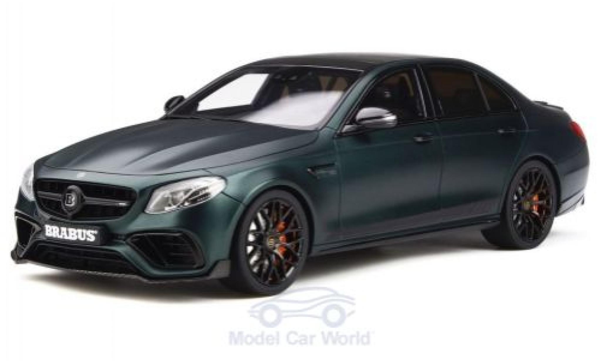 Mercedes Classe E 1/18 GT Spirit Brabus 800 matt-verte 2019 Basis E 63