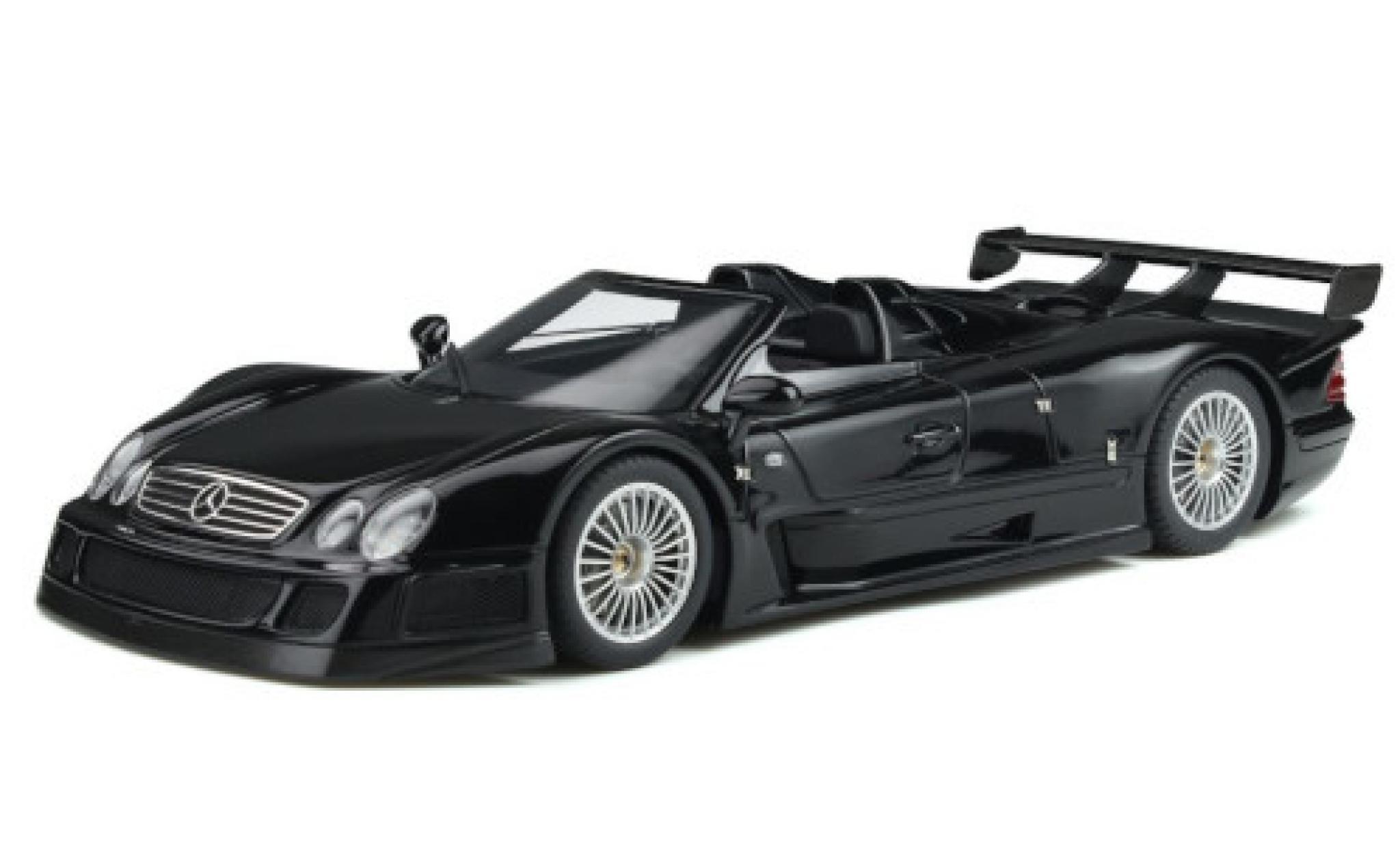 Mercedes CLK 1/18 GT Spirit GTR Roadster noire 1998