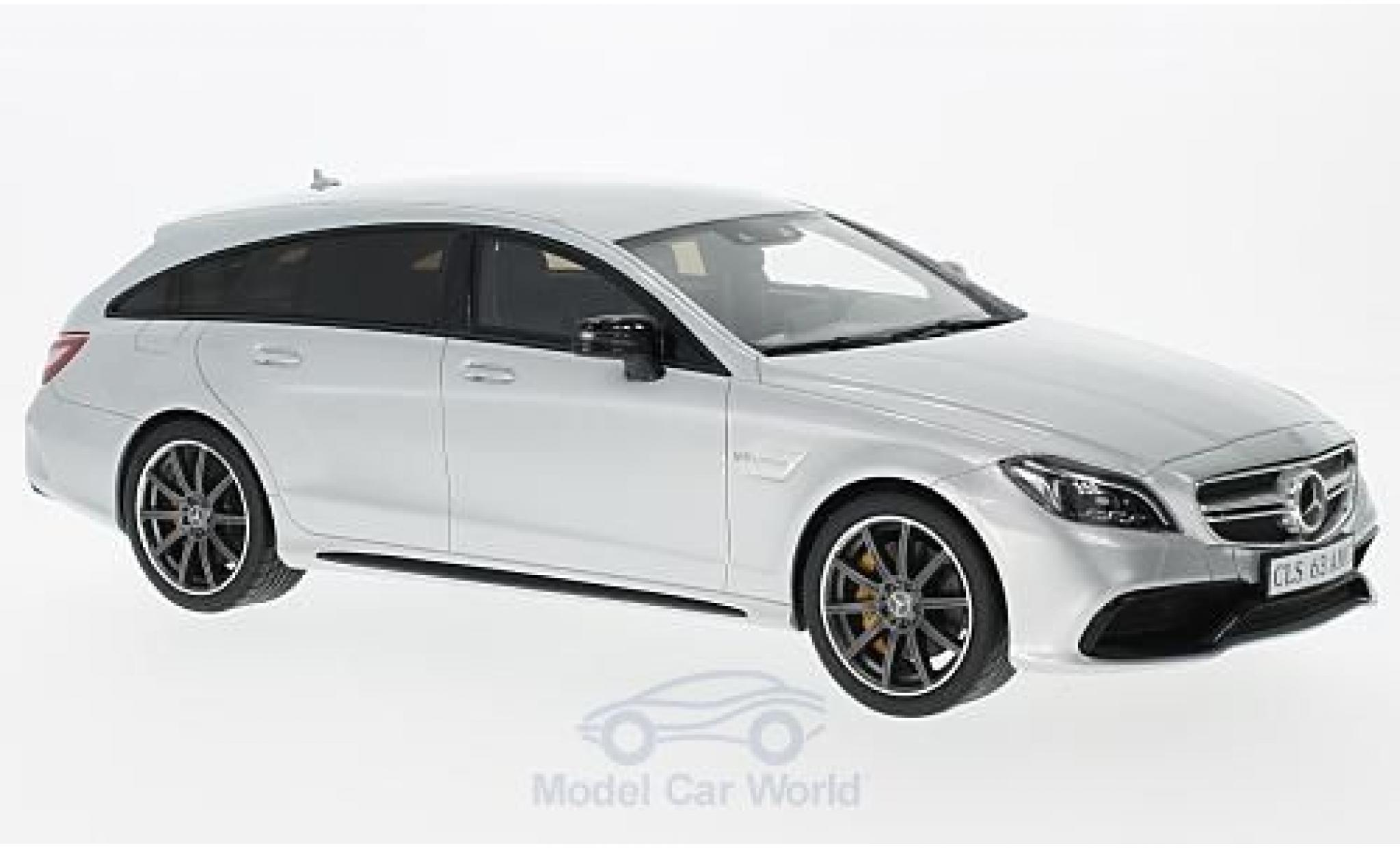 Mercedes CLS 1/18 GT Spirit 63 AMG Shooting Brake grise 2014