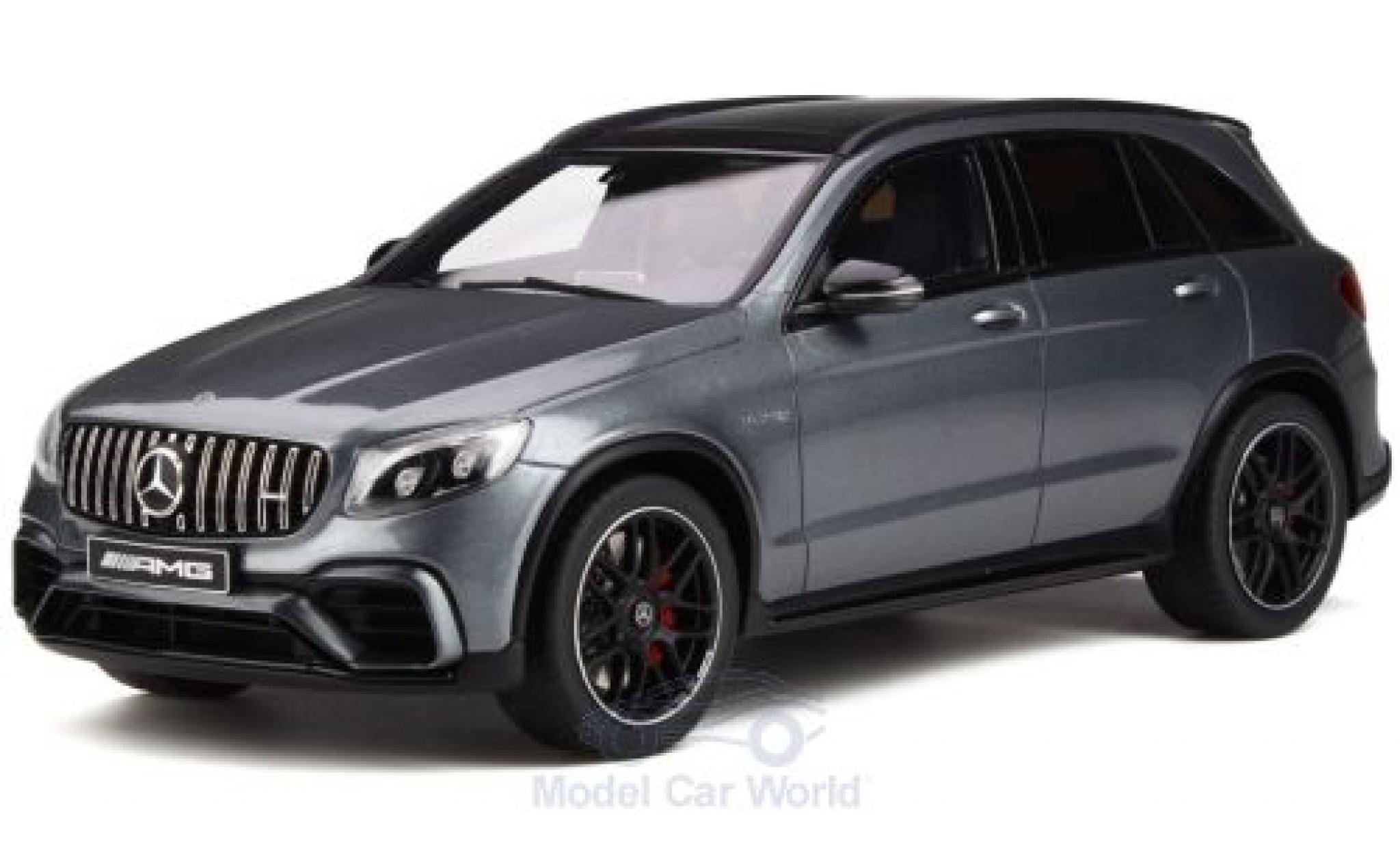 Mercedes Classe GLC 1/18 GT Spirit GLC 63 S metallise grise 2017