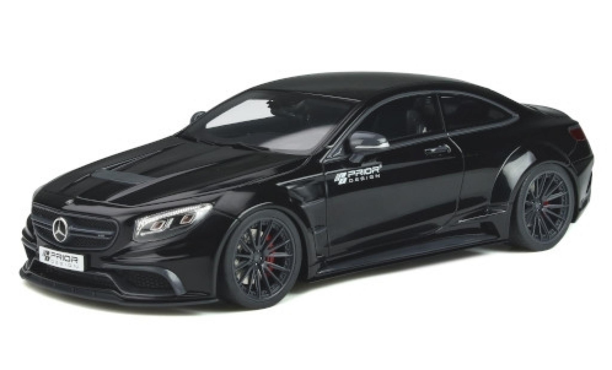 Mercedes CLA 1/18 GT Spirit Prior Design PD75SC black/Dekor 2017 Basis: MB S-classe Coupe (C217)