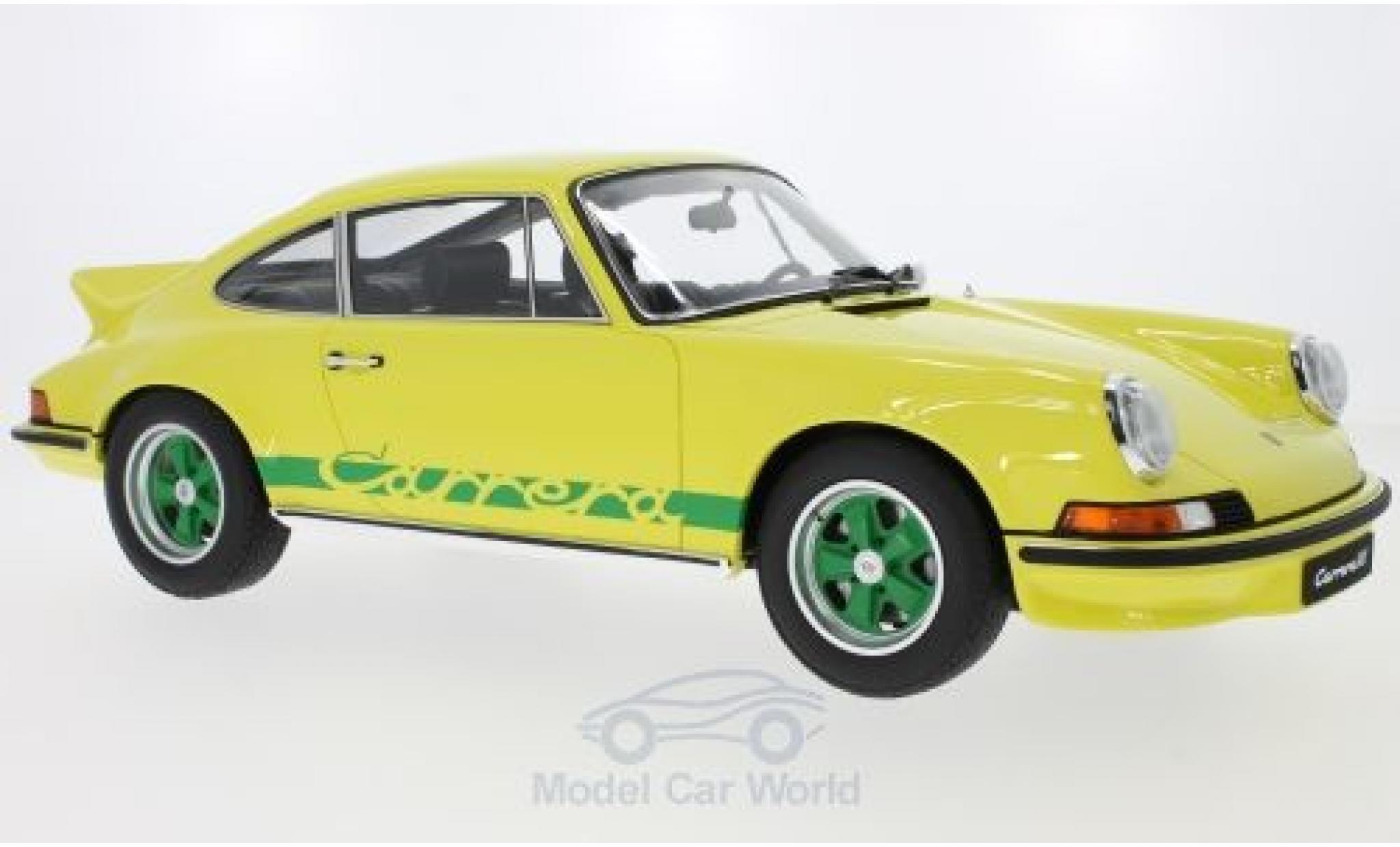 Porsche 911 SC 1/12 GT Spirit 2.7 RS Touring yellow