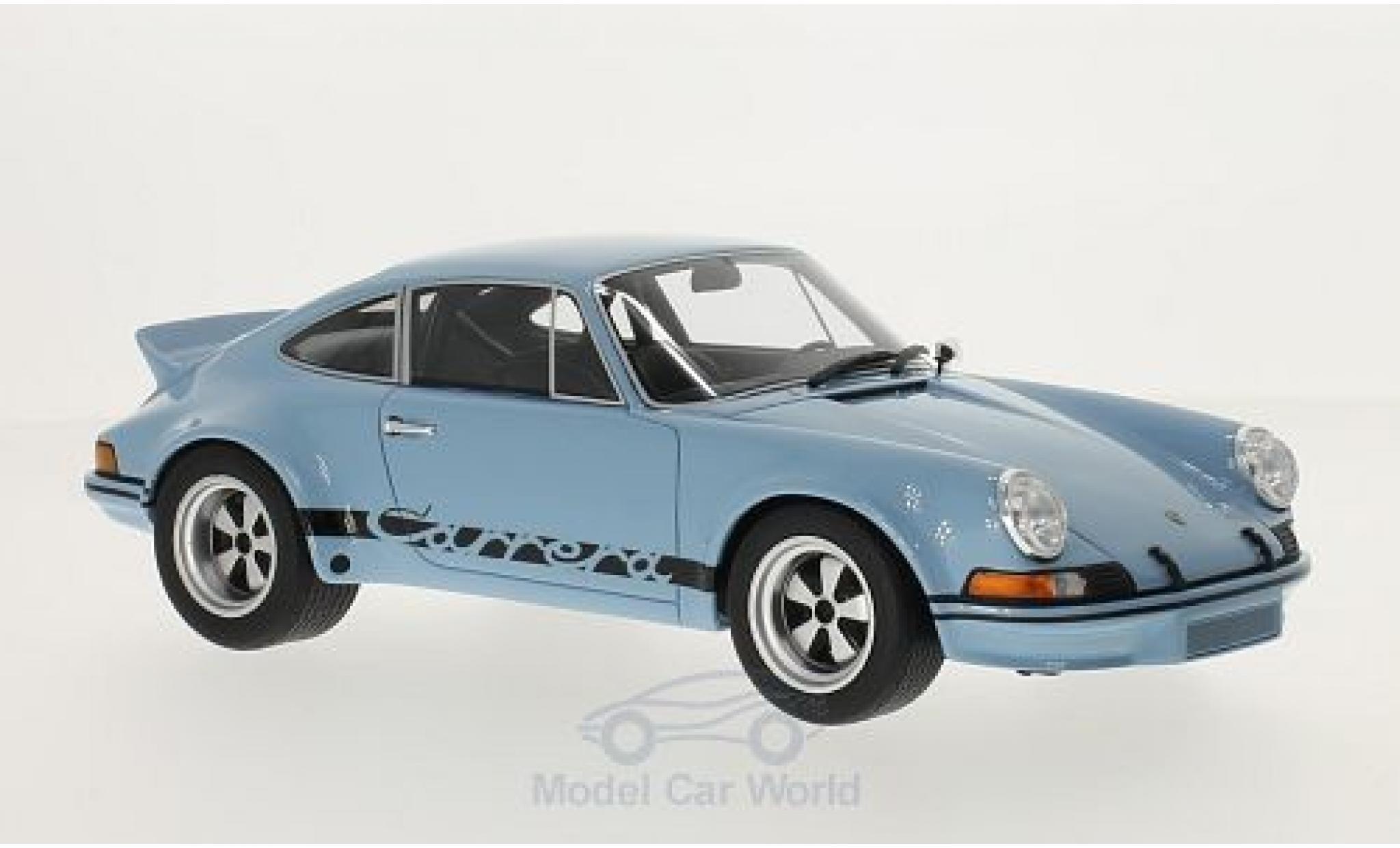 Porsche 911 SC 1/18 GT Spirit 2.8 RSR bleue/noire