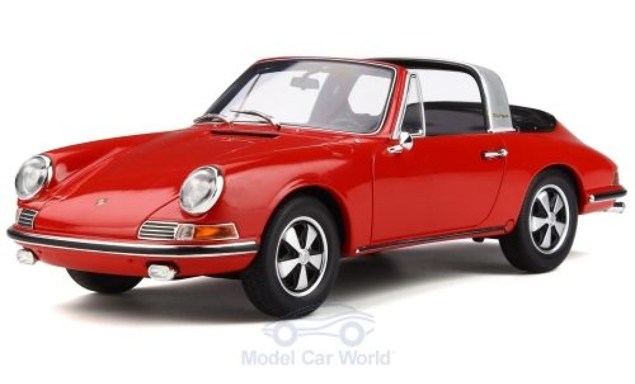 Porsche 911 1/18 GT Spirit (901) Targa rouge 1967